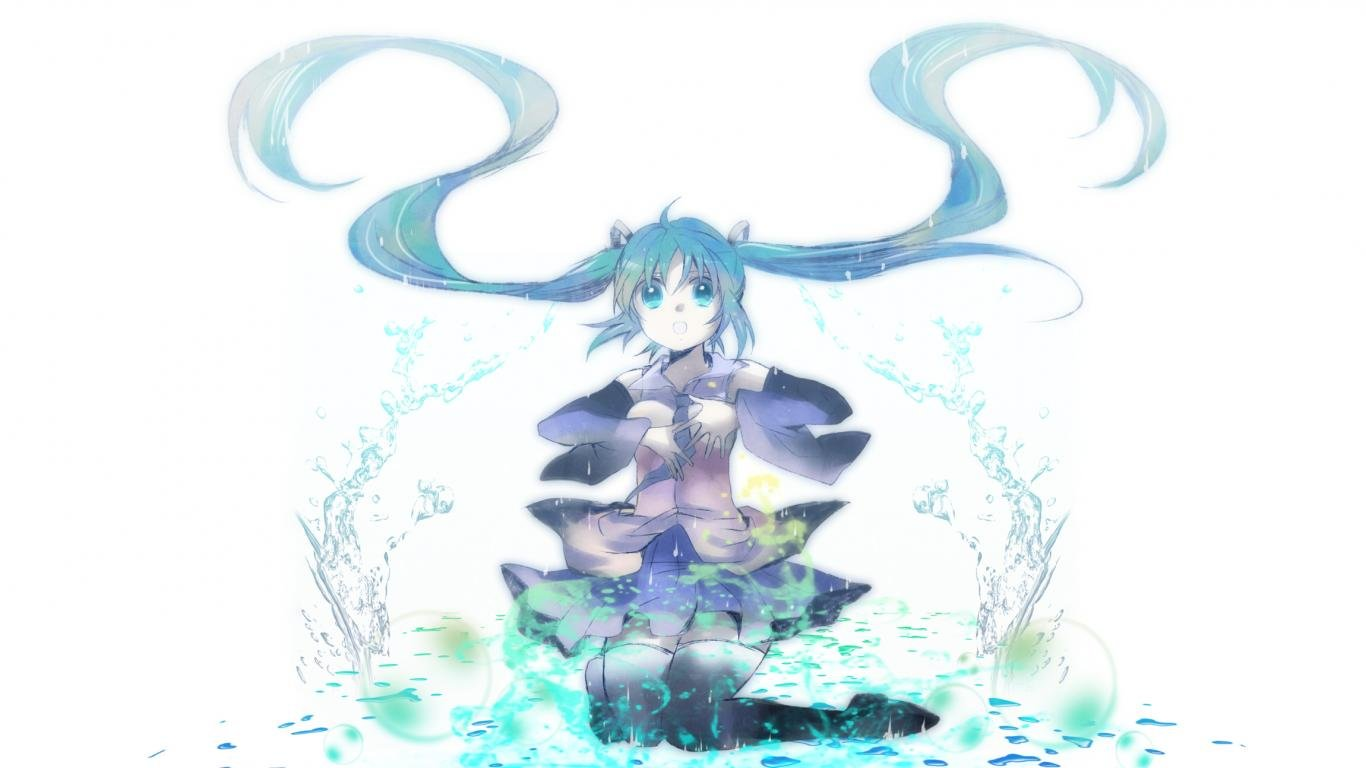 Download hd 1366x768 Vocaloid PC wallpaper ID:6705 for free