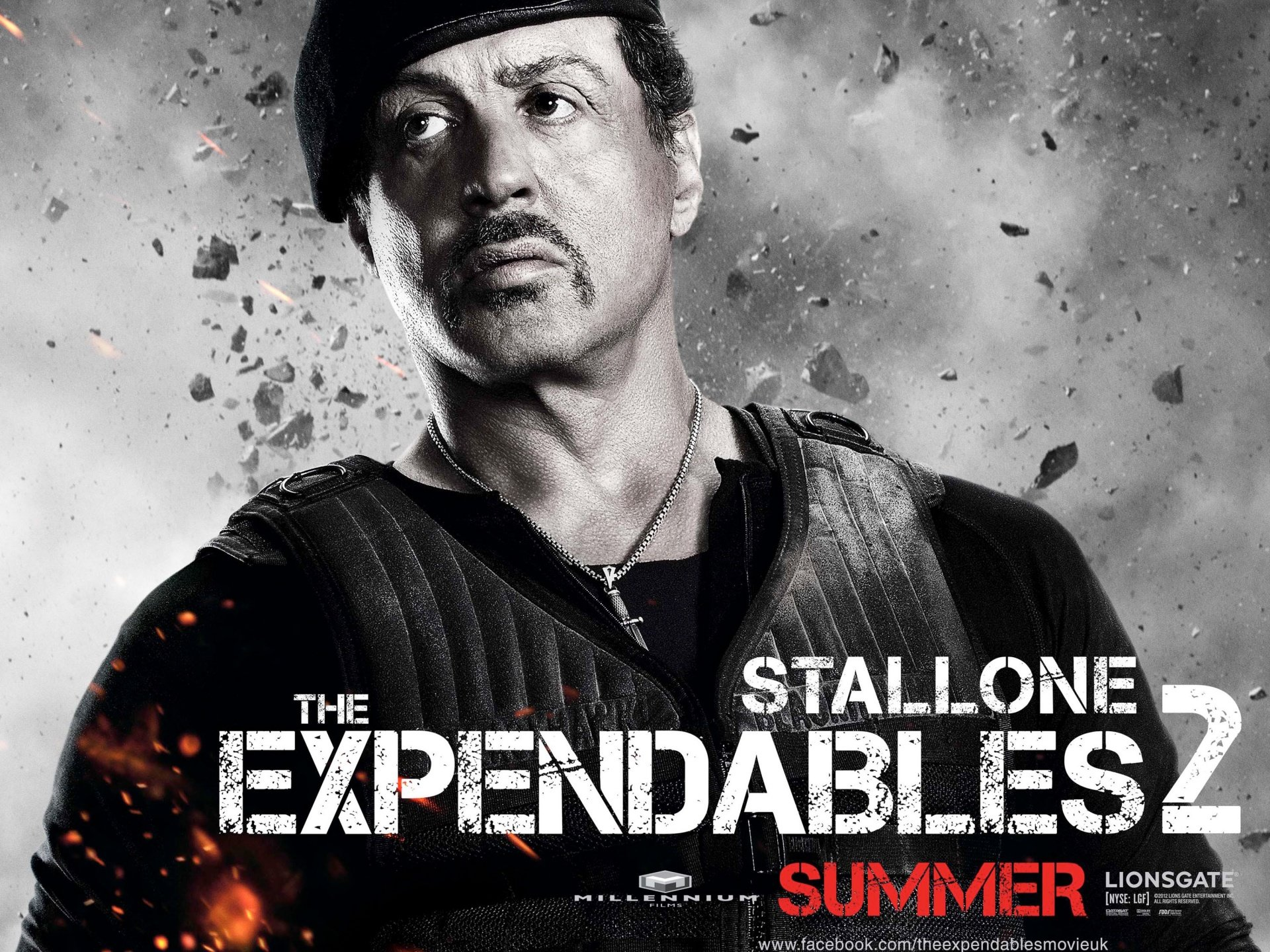 Download hd 1920x1440 The Expendables 2 PC background ID:256307 for free