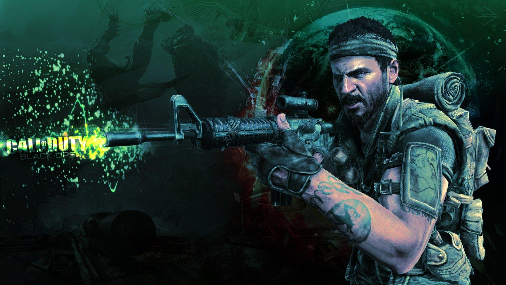 Best Call Of Duty Black Ops Wallpaper ID70176 For High Resolution 1080p Desktop