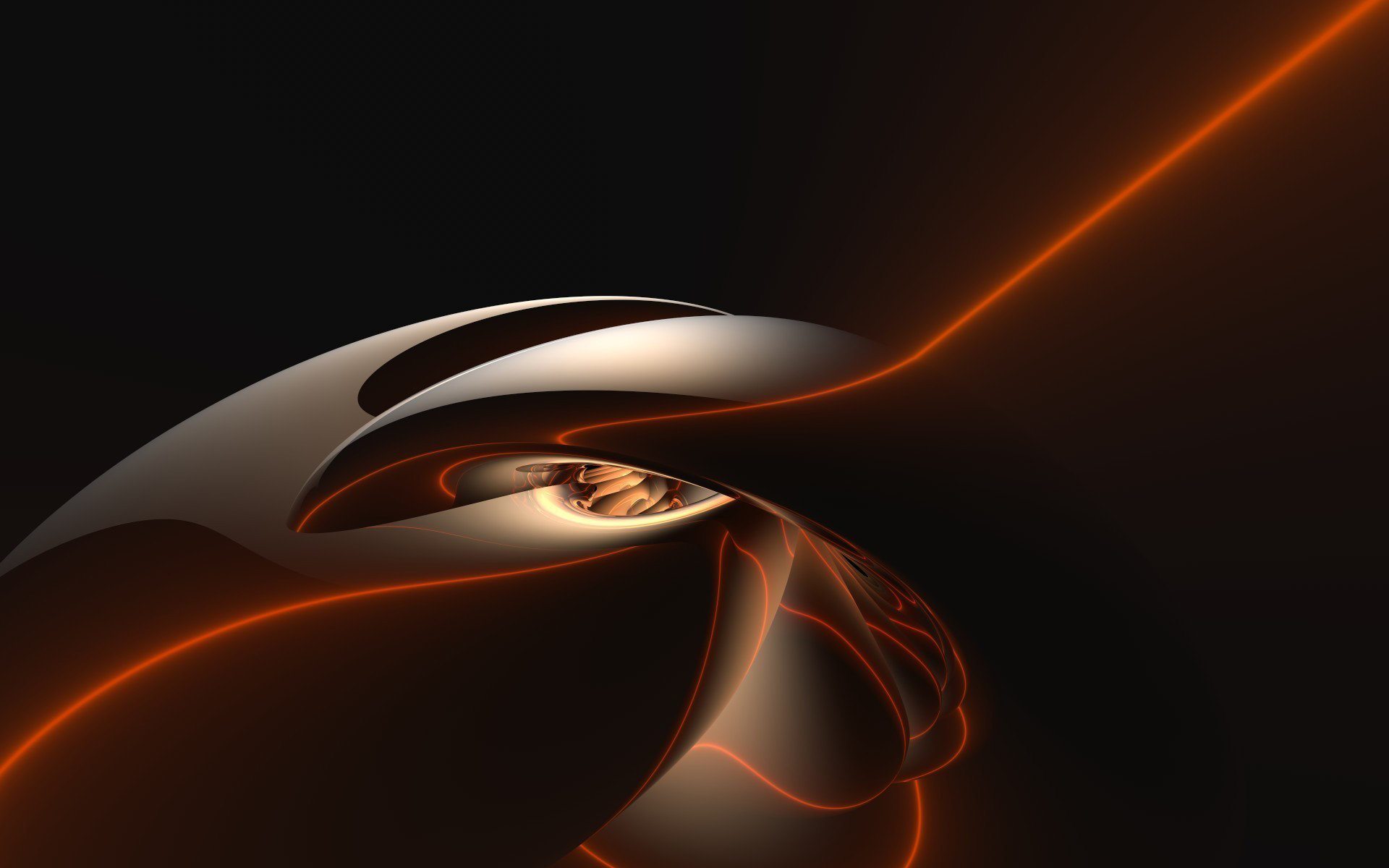 Free Orange Abstract high quality wallpaper ID:141042 for hd 1920x1200 PC