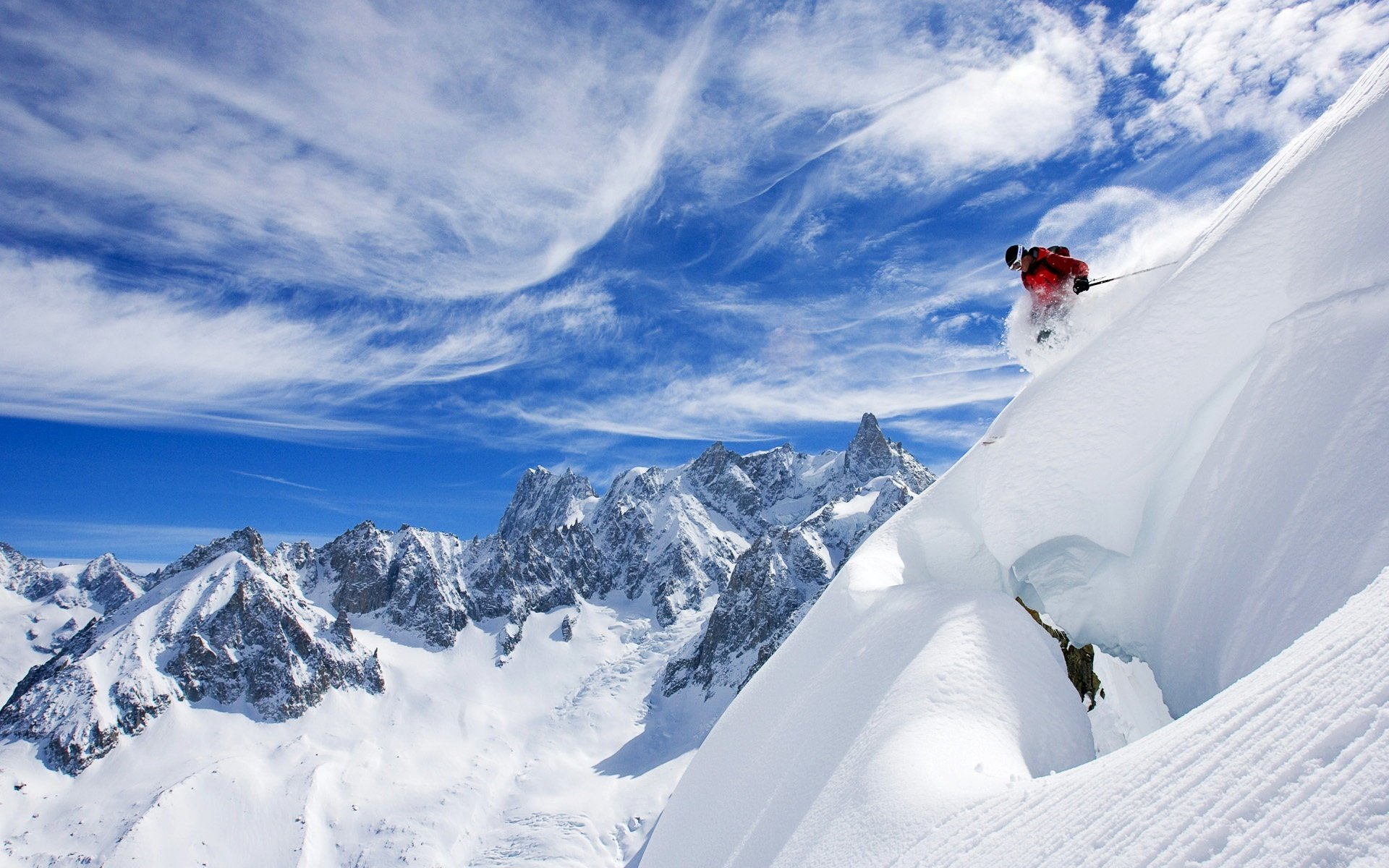 Free download Skiing wallpaper ID:27258 hd 1920x1200 for PC