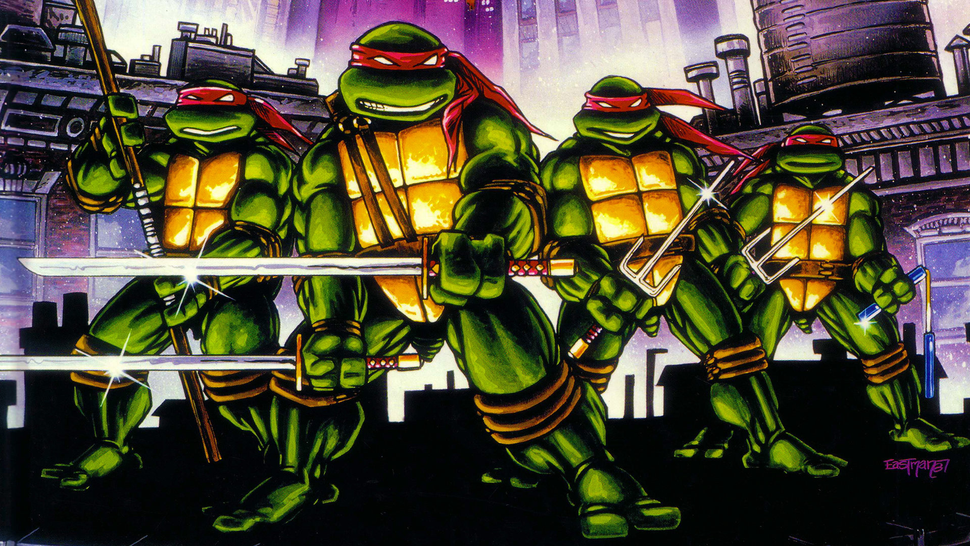 Download Hd 1920x1080 Raphael TMNT PC Wallpaper ID111270 For Free