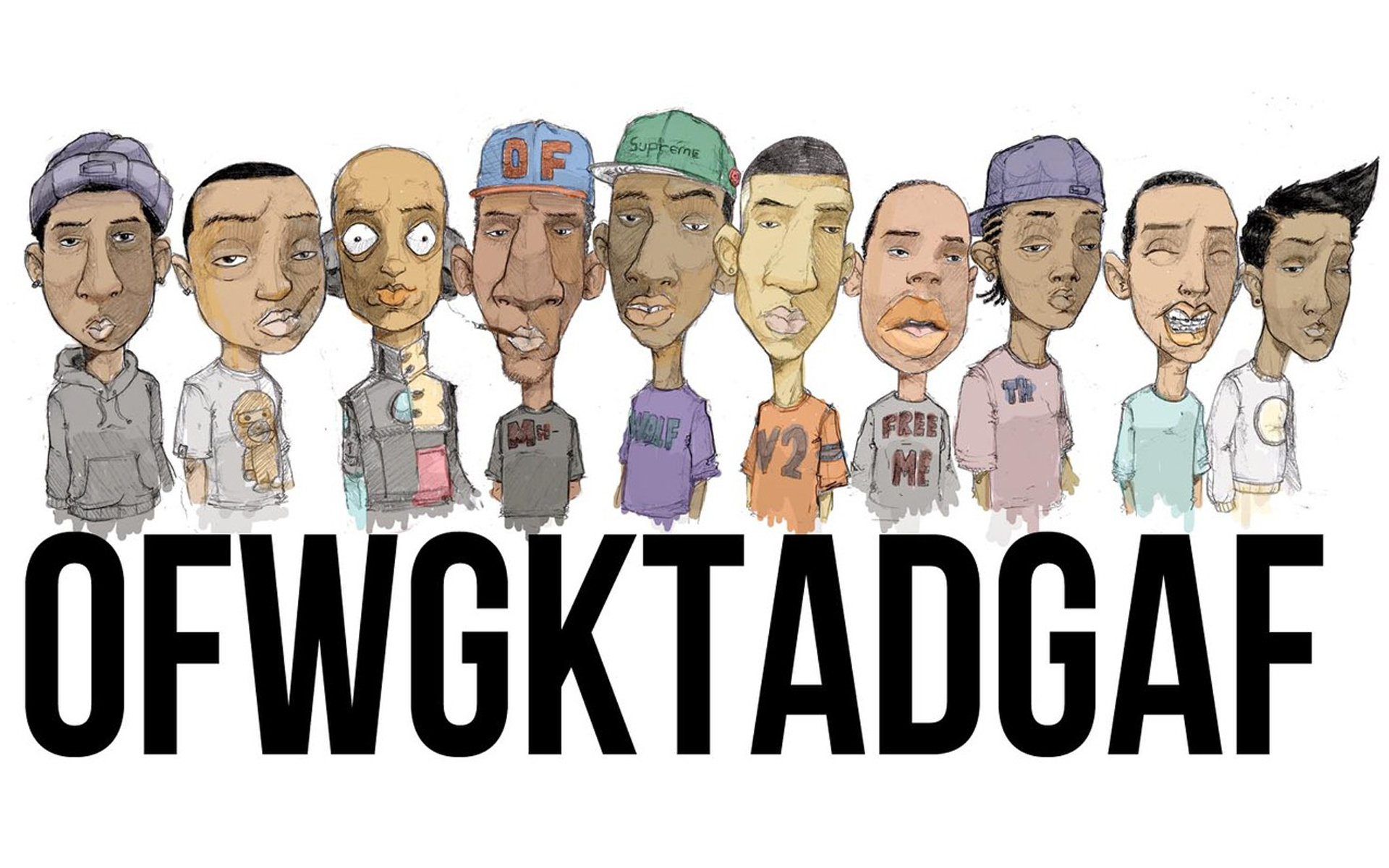 Awesome Odd Future free wallpaper ID:88895 for hd 1920x1200 computer