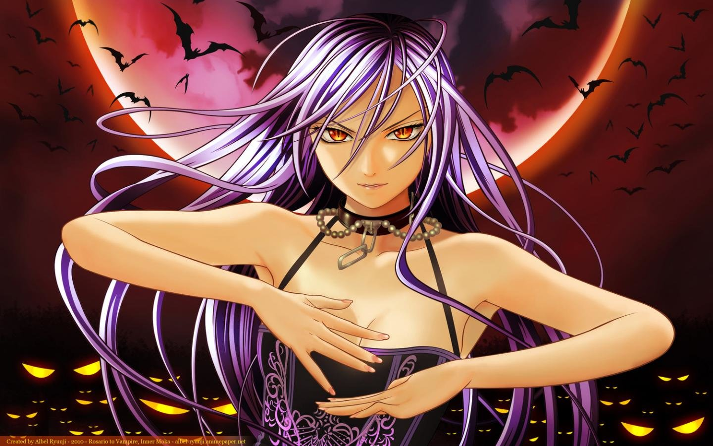 Free Rosario + Vampire high quality background ID:164628 for hd 1440x900 desktop