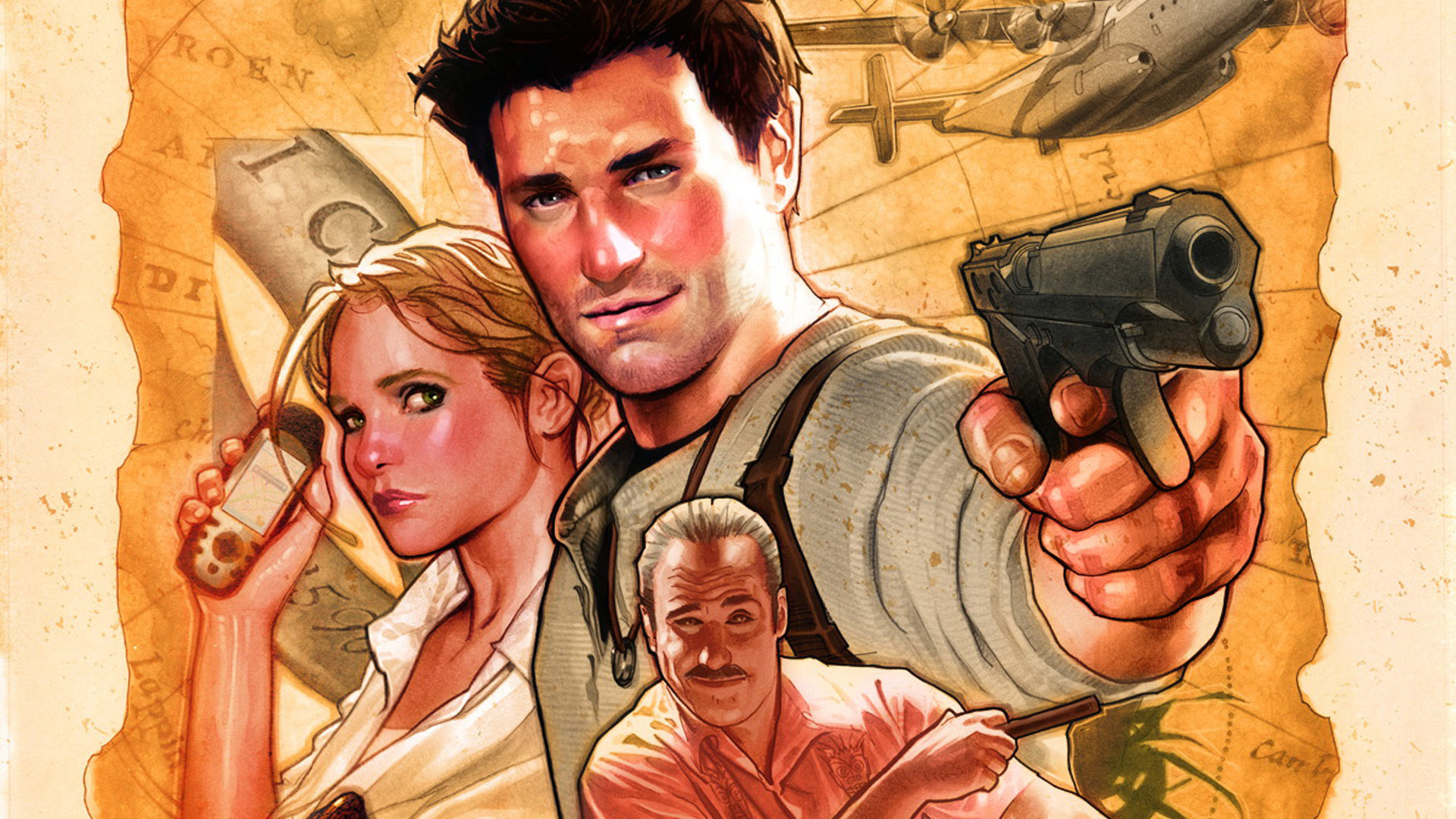 Free Uncharted 3 Drakes Deception High Quality Wallpaper