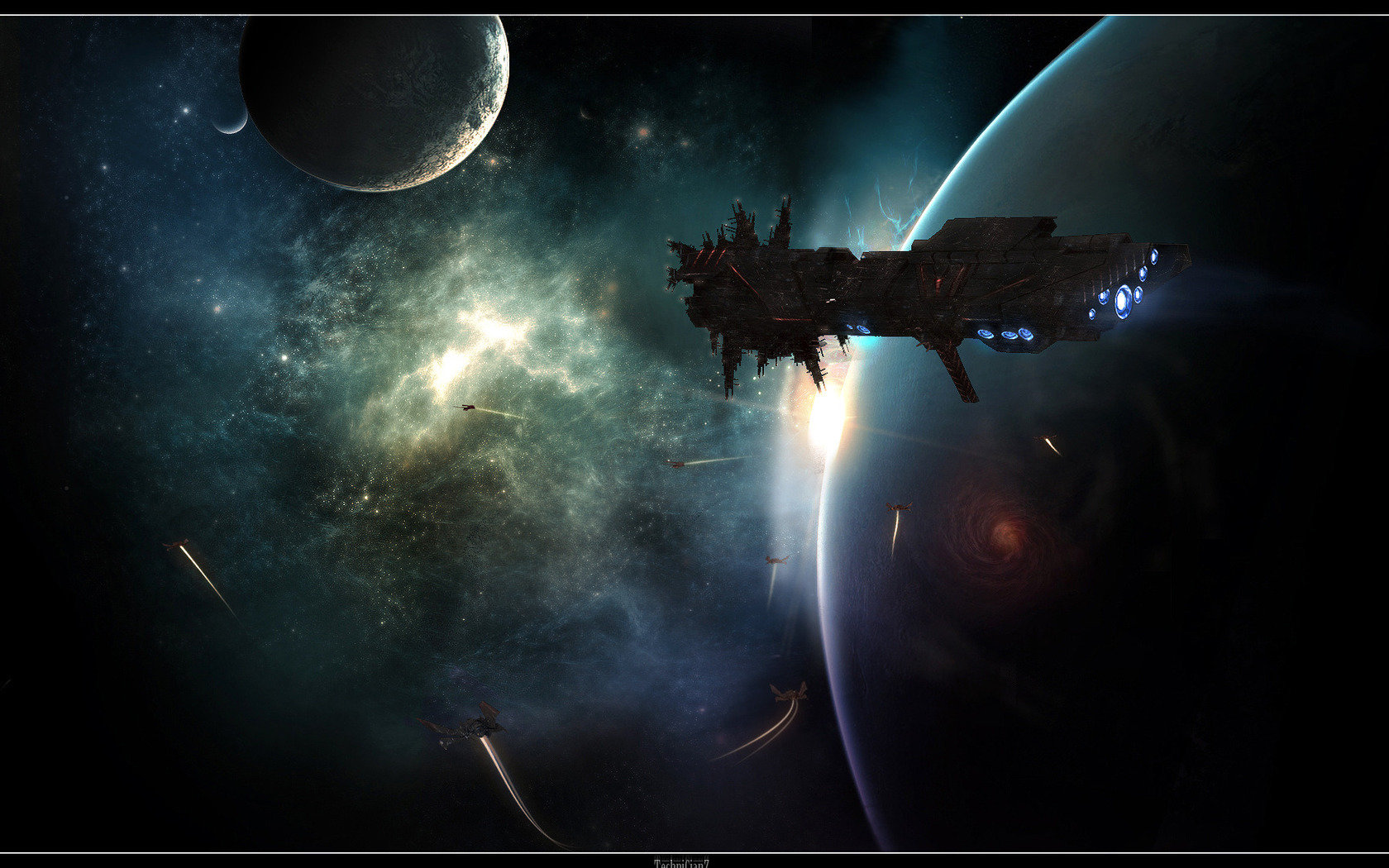 Best Spaceship wallpaper ID:184007 for High Resolution hd 1680x1050 PC