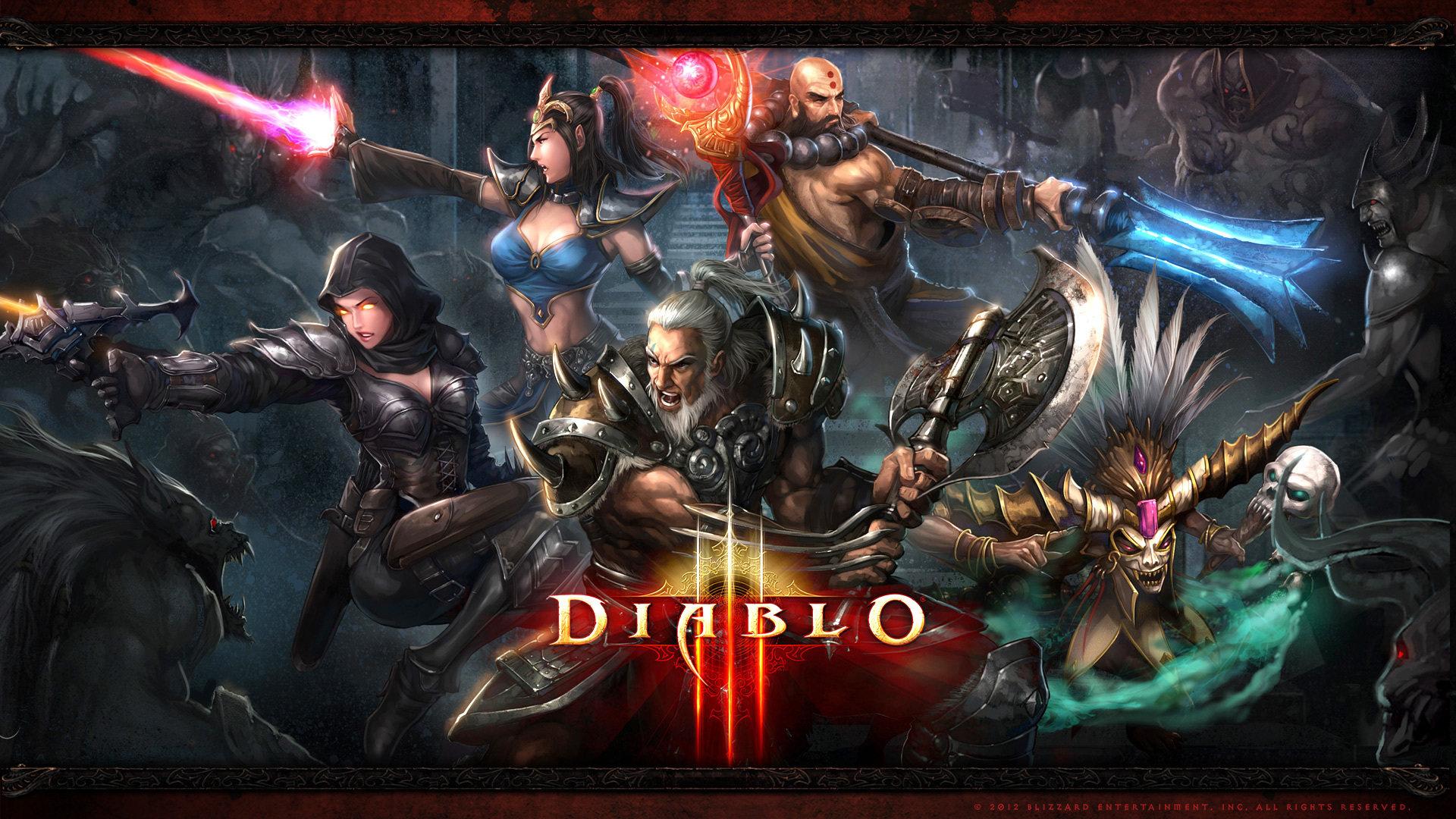 High Resolution Diablo 3 Full Hd 1920x1080 Wallpaper Id 30860 For