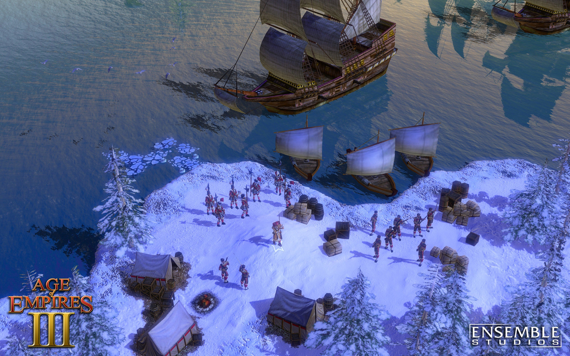 Age Of Empires 3 Wallpapers Hd For Desktop Backgrounds