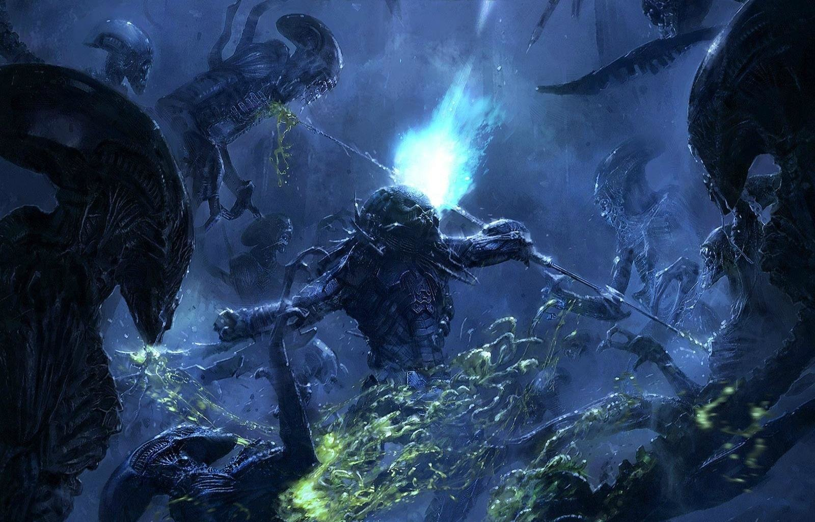 Avp alien vs predator movie wallpapers hd for desktop - Wallpaper 1600x1024 ...