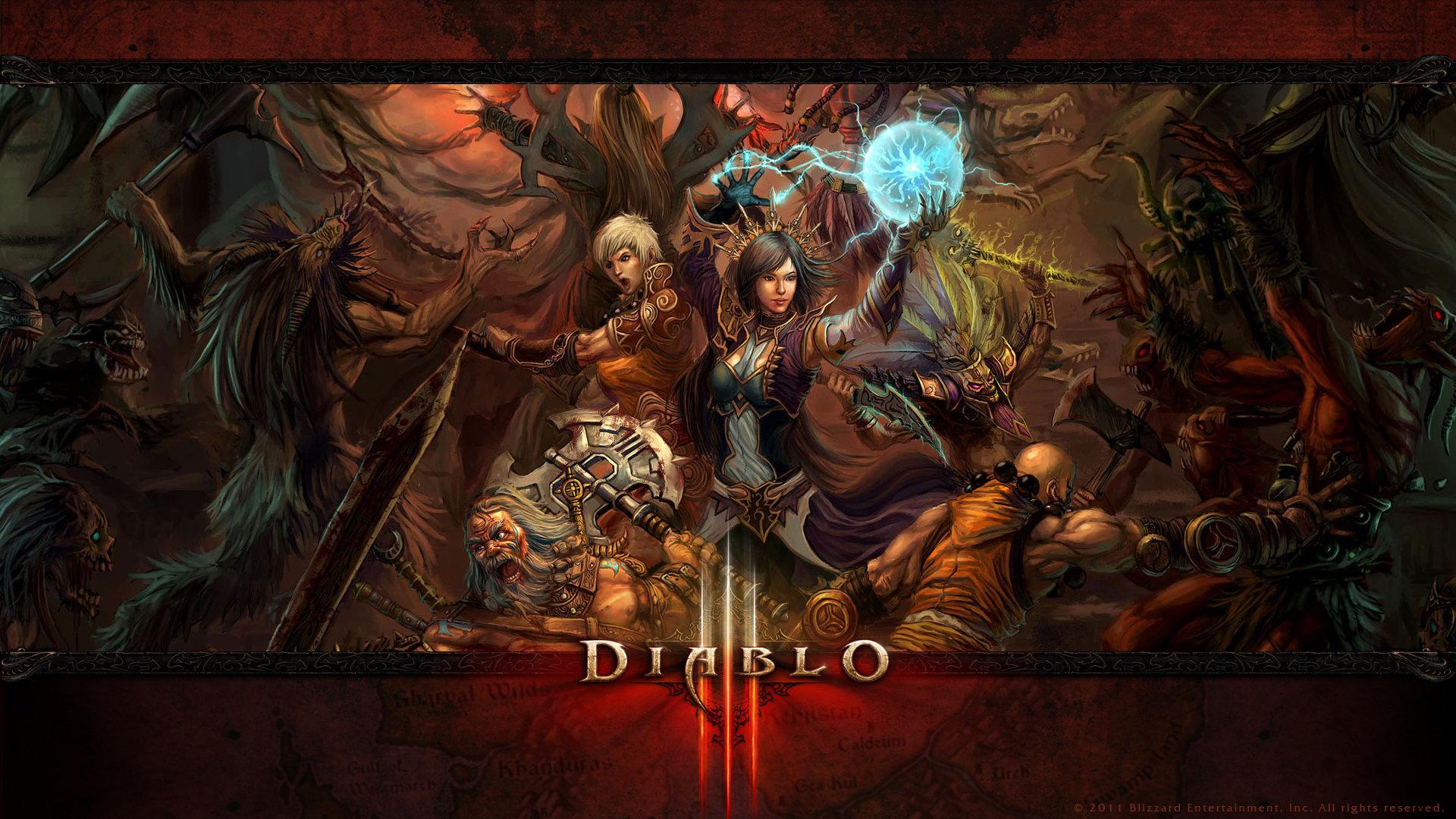 Free Diablo 3 high quality wallpaper ID:30946 for full hd 1920x1080 desktop