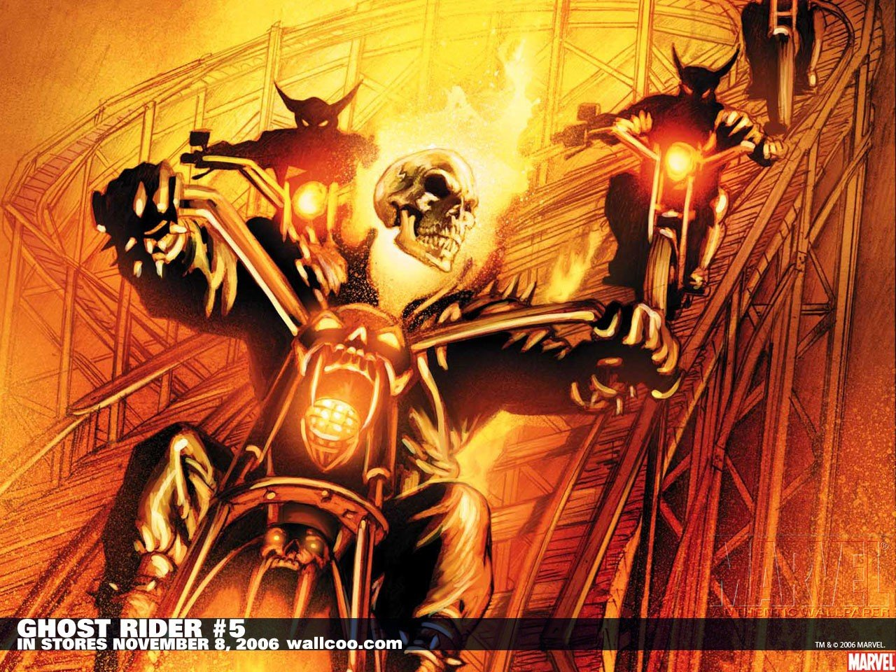 Awesome Ghost Rider free wallpaper ID:29435 for hd 1280x960 desktop