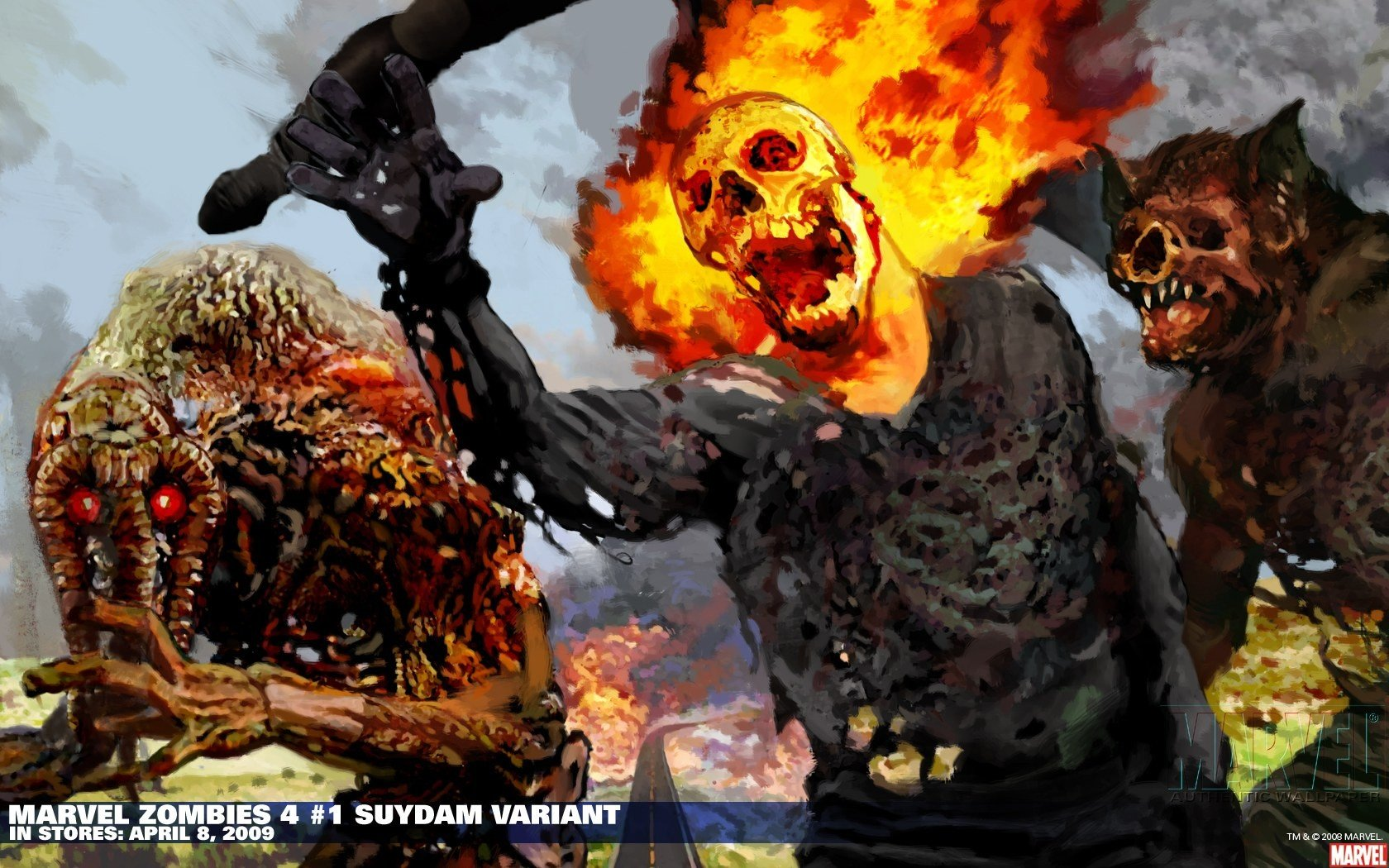 High resolution Ghost Rider hd 1680x1050 wallpaper ID:29433 for computer