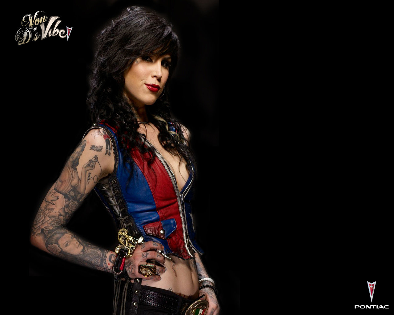 Awesome Kat Von D free background ID:103056 for hd 1280x1024 desktop