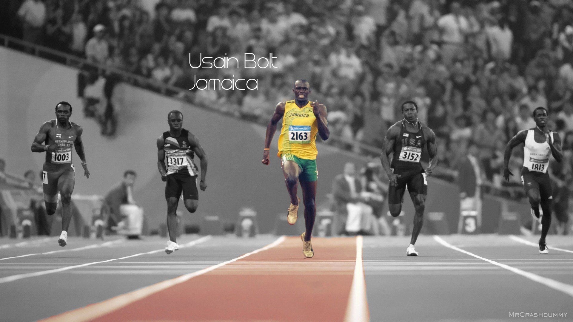 Free Usain Bolt high quality wallpaper ID:322657 for full hd 1080p PC