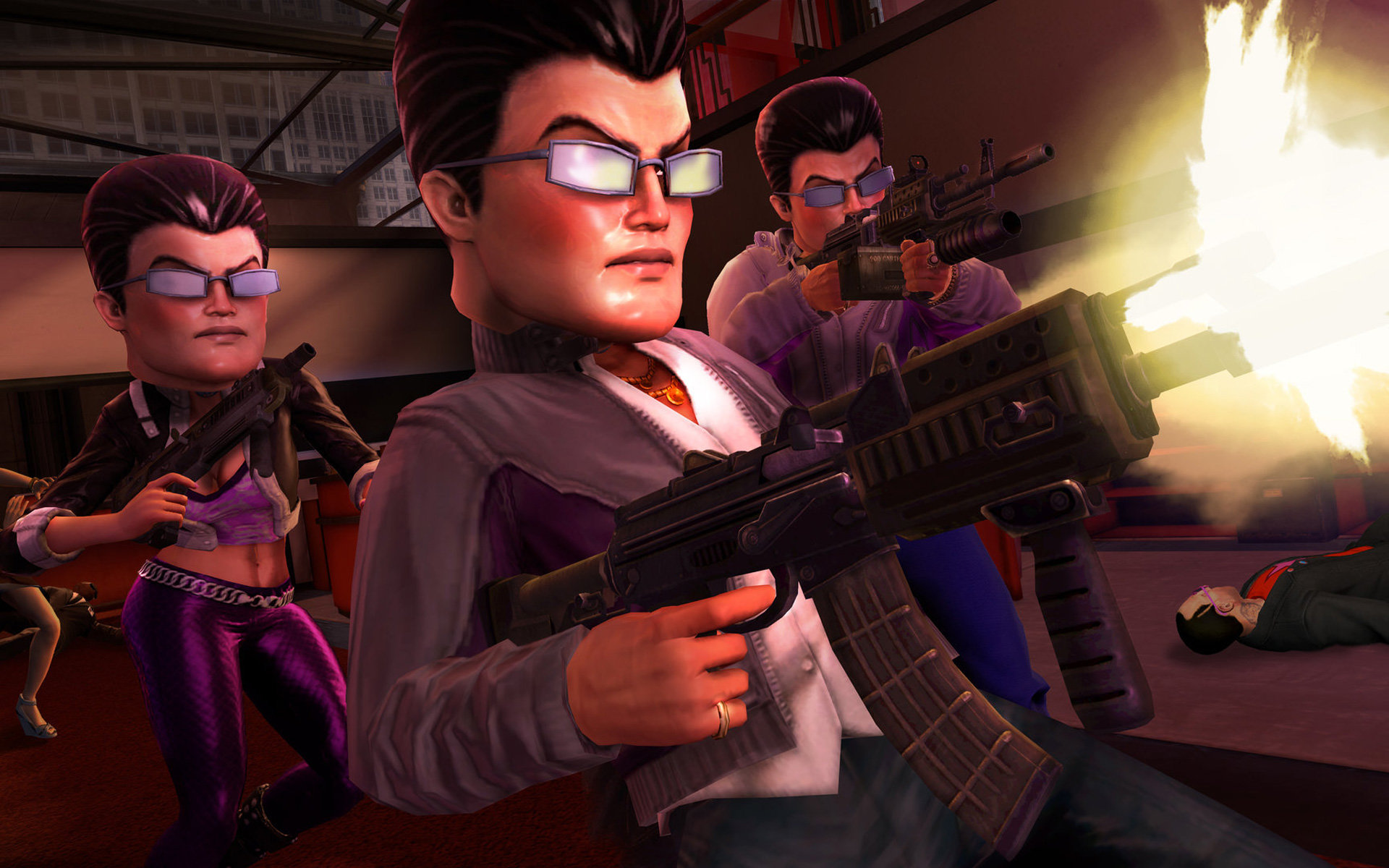 Free download Saints Row background ID:100262 hd 1920x1200 for PC