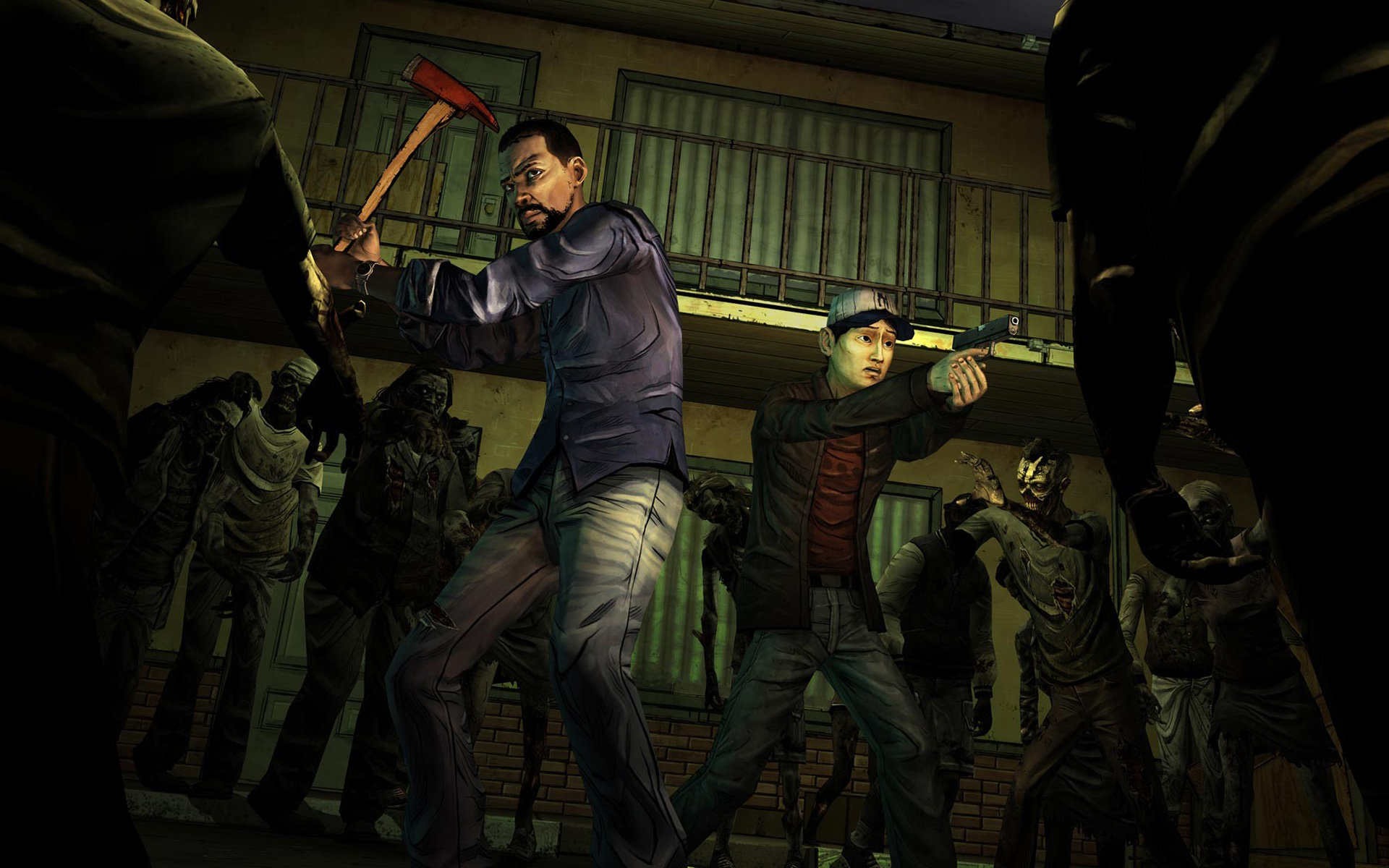 The Walking Dead Video Game Wallpapers Hd For Desktop