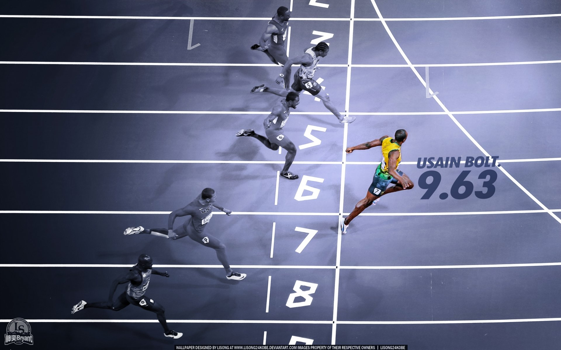 Free Download Usain Bolt Wallpaper ID322656 Hd 1920x1200 For Computer