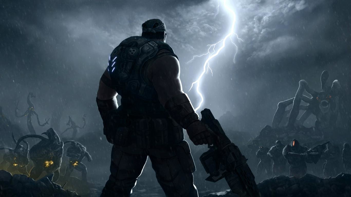 Gears Of War 3 Wallpapers Hd For Desktop Backgrounds