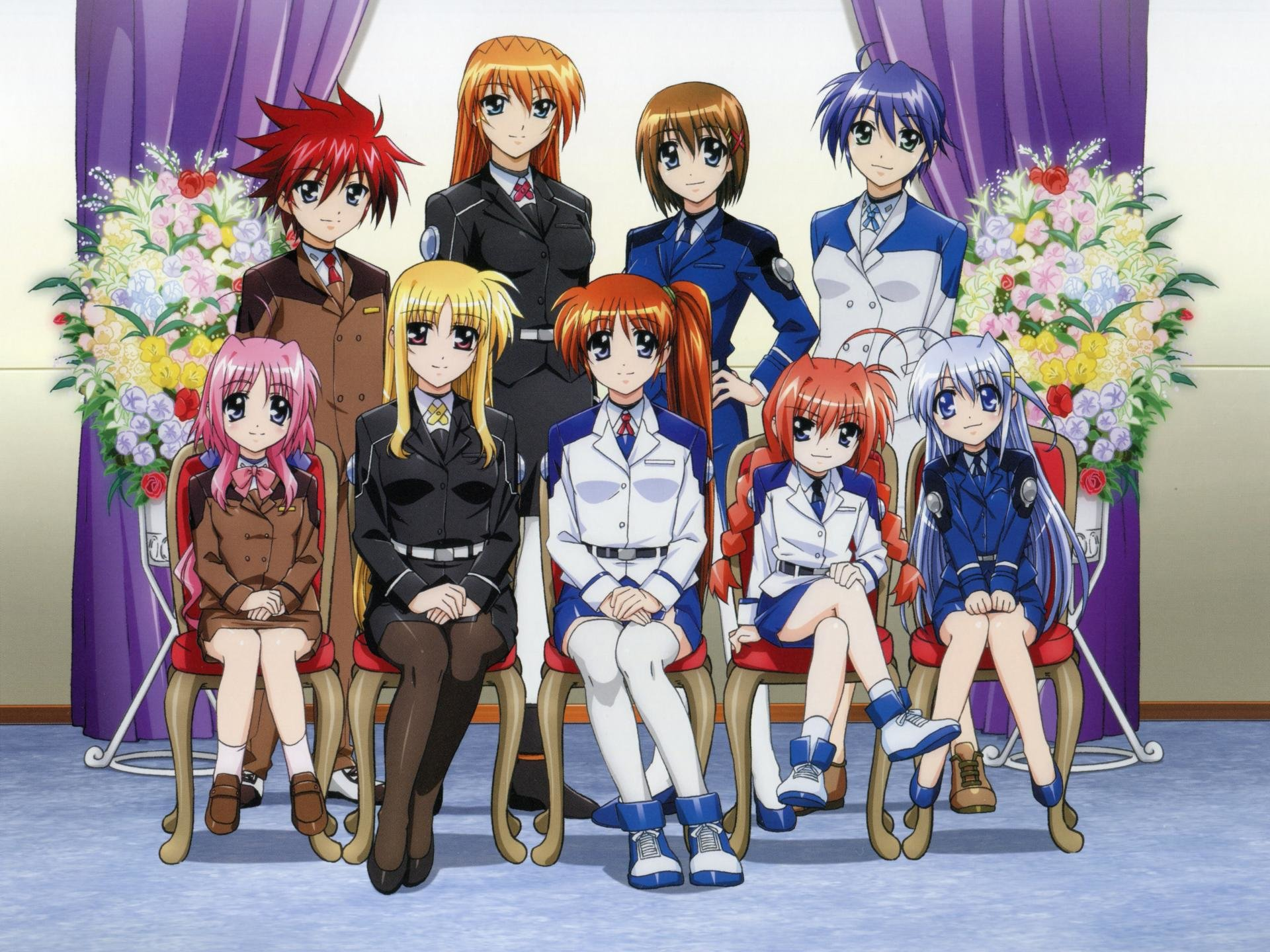 High resolution Magical Girl Lyrical Nanoha hd 1920x1440 background ID:297560 for desktop