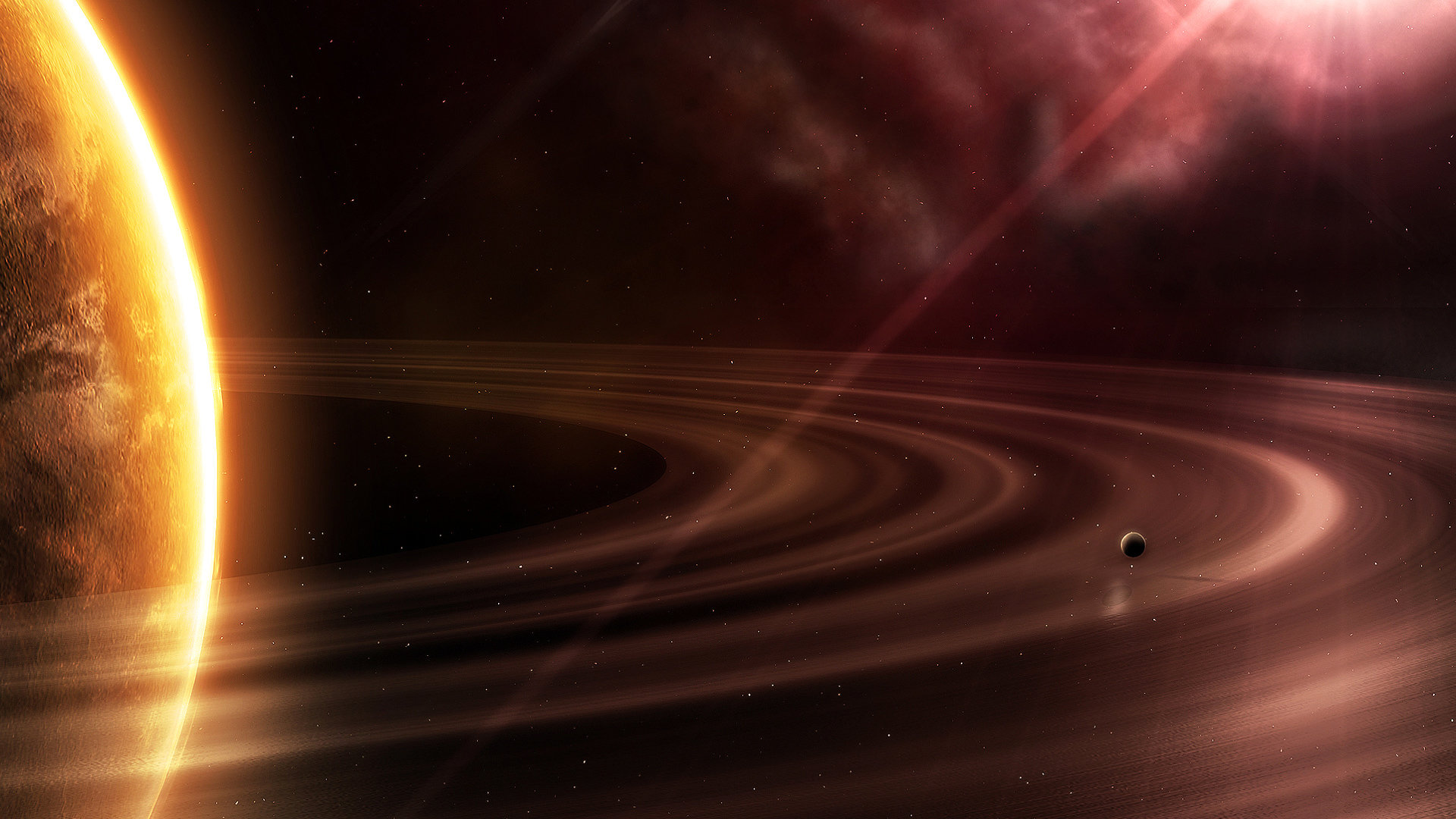 High resolution Planetary Ring 1080p wallpaper ID:256497 for PC