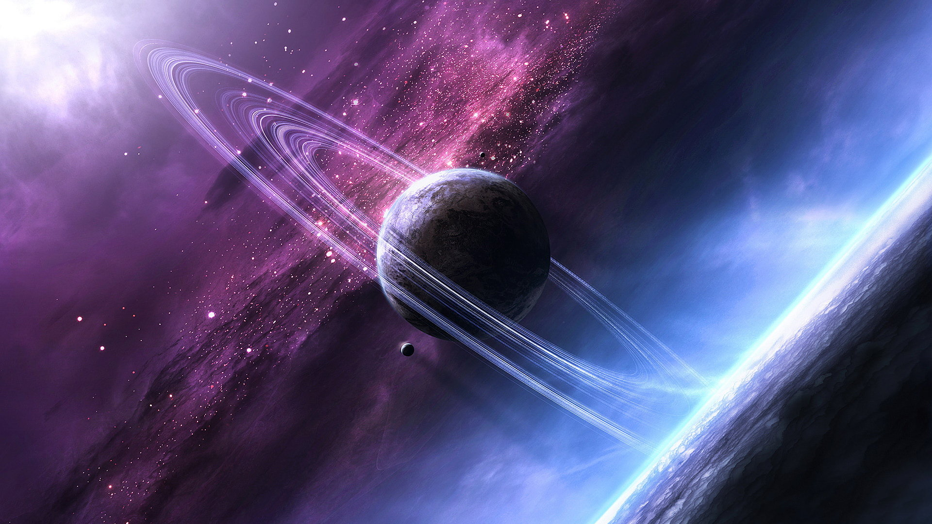 Download hd 1080p Planetary Ring desktop wallpaper ID:256389 for free