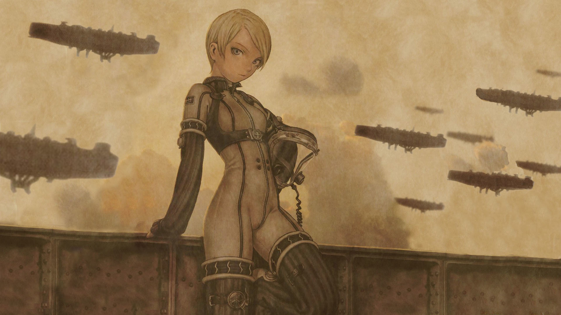 Best Last Exile background ID:156886 for High Resolution hd 1920x1080 computer