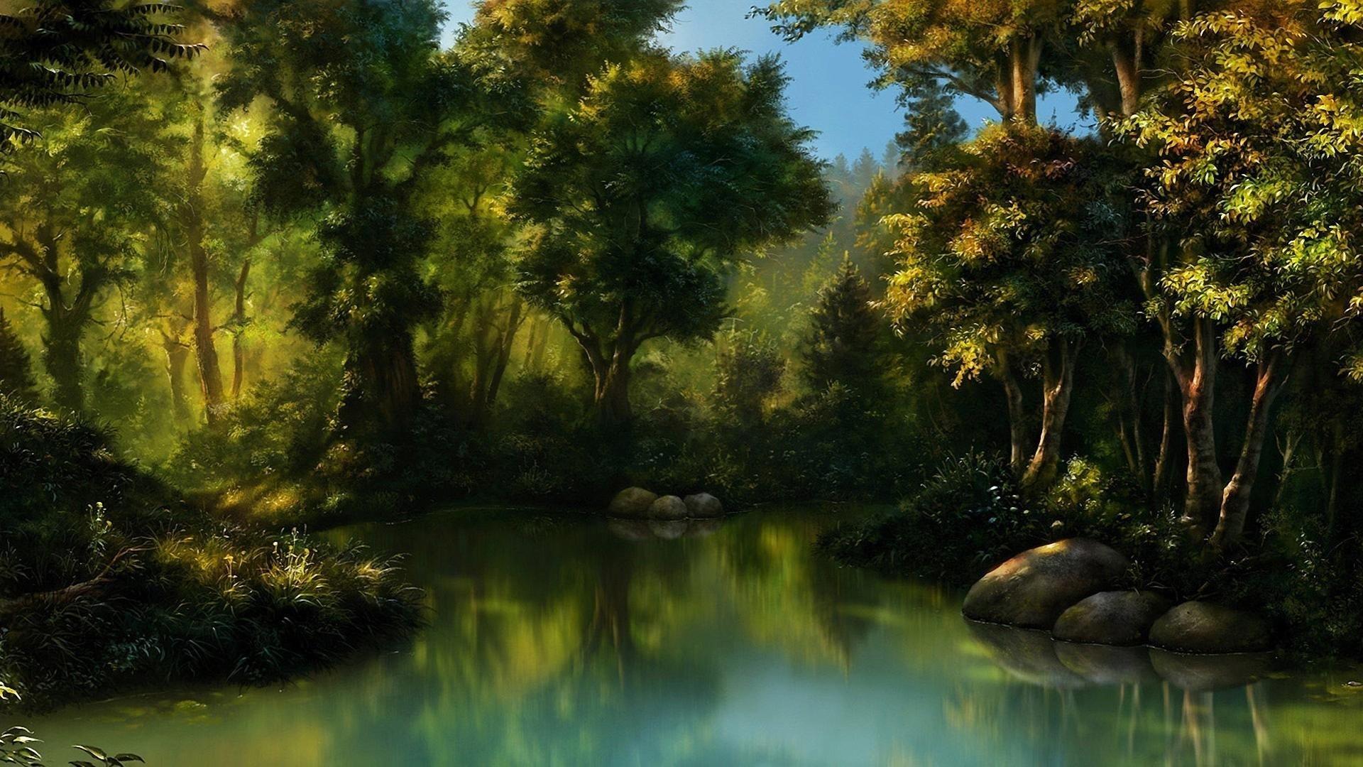 Free Download Fantasy Landscape Wallpaper ID:144134 Hd