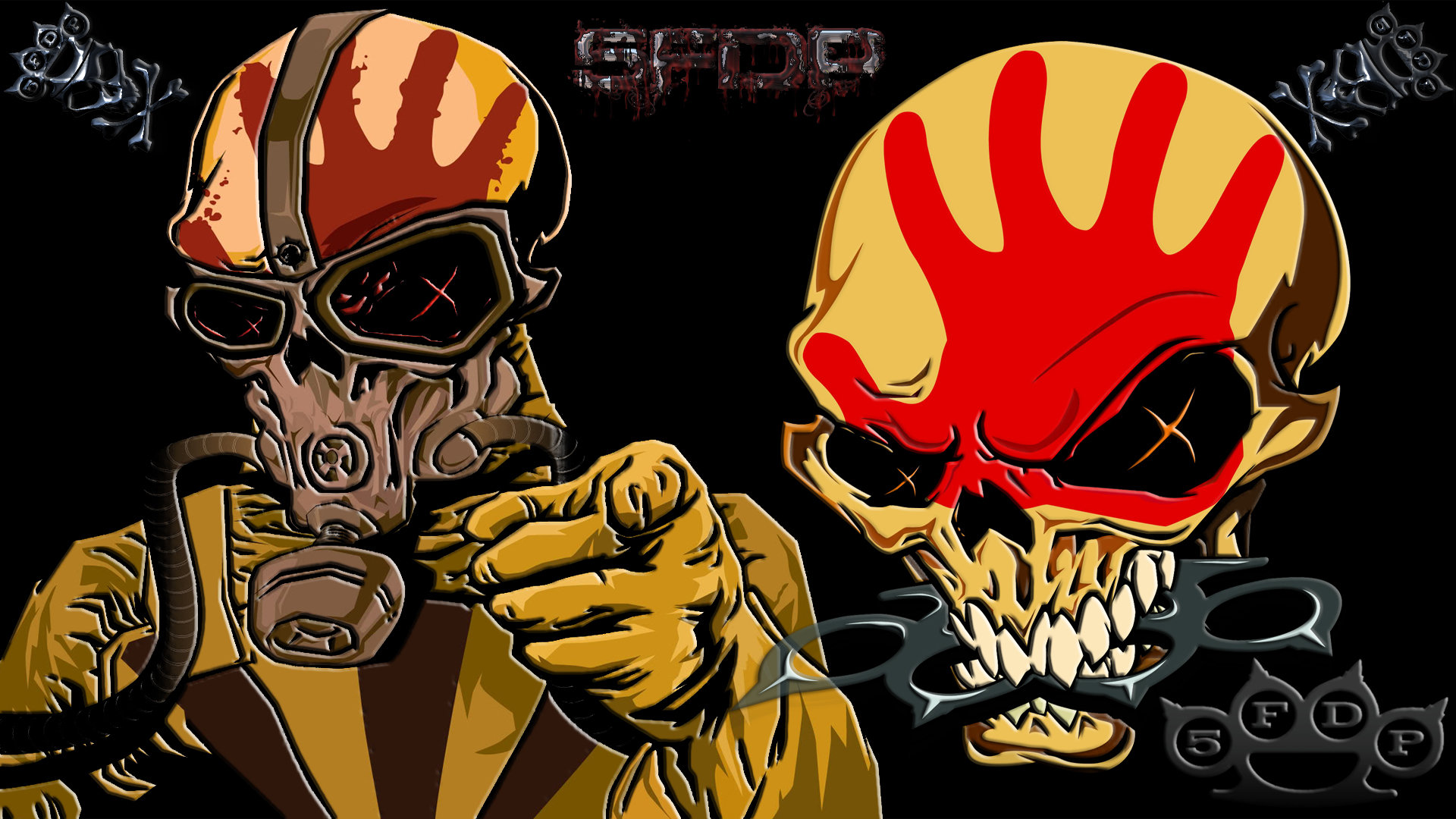 Five Finger Death Punch Ffdp Wallpapers Hd For Desktop Backgrounds