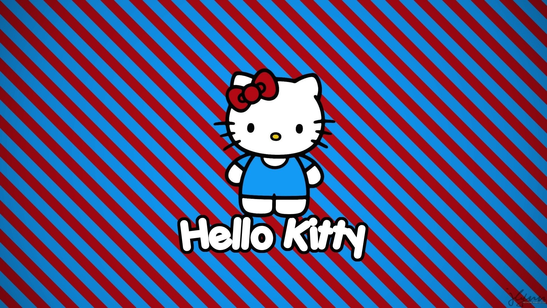 Download 1080p Hello Kitty PC wallpaper ID:93349 for free