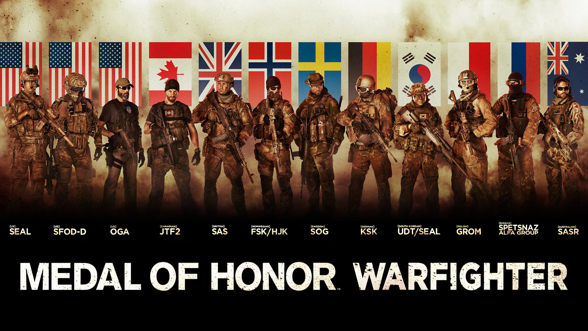 Medal Of Honor Warfighter Wallpapers 1920x1080 Full Hd 1080p