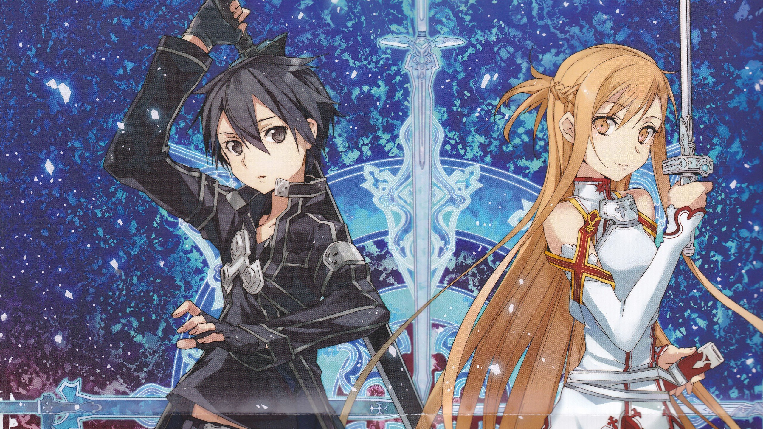 Download hd 2560x1440 Sword Art Online (SAO) PC background ID:180724 for free