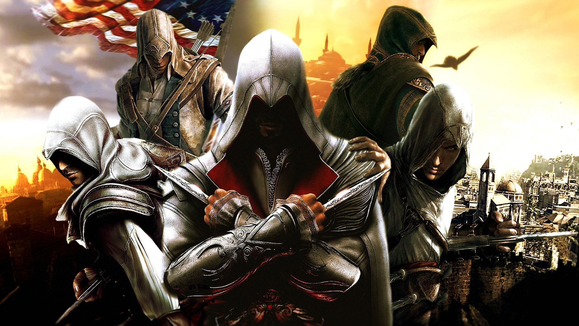 Free download Assassin's Creed background ID:188221 full hd for PC