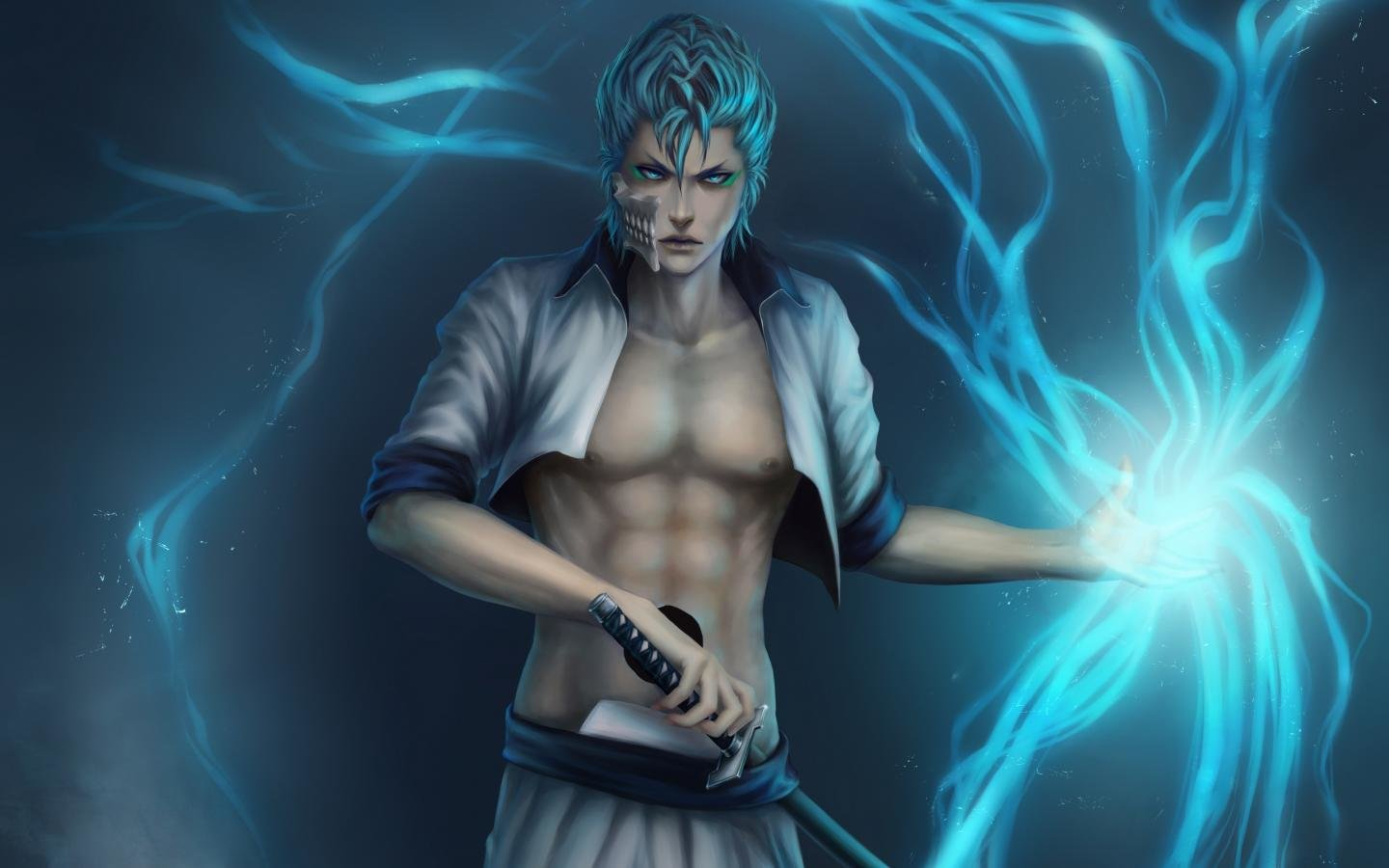 Download hd 1440x900 Grimmjow Jaegerjaquez PC background ID:419012 for free