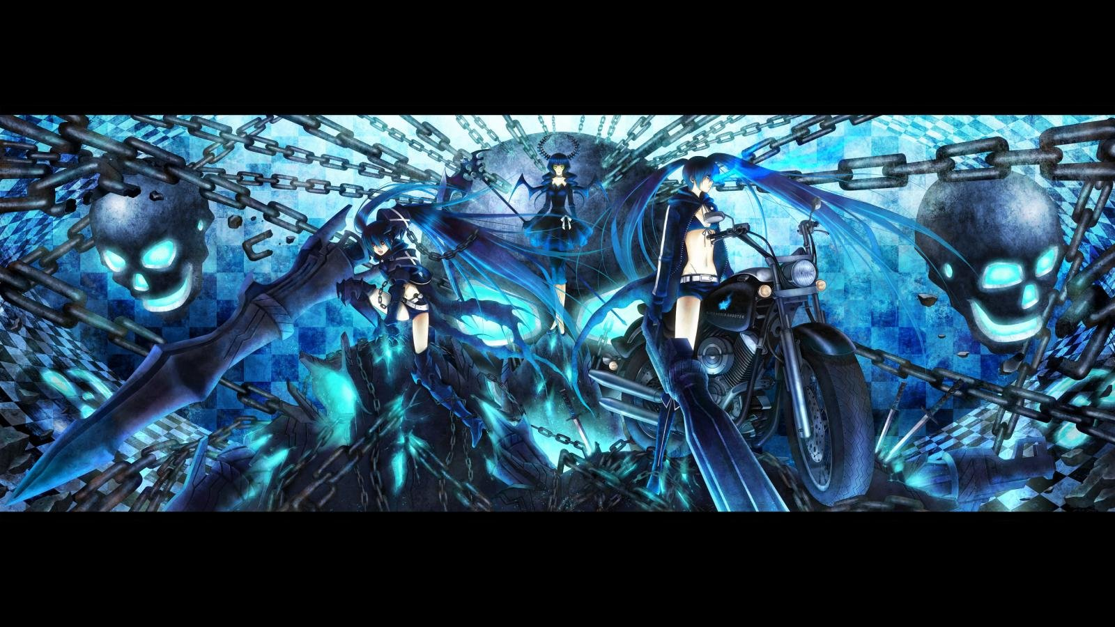 Best Black Rock Shooter wallpaper ID:454245 for High Resolution hd 1600x900 desktop