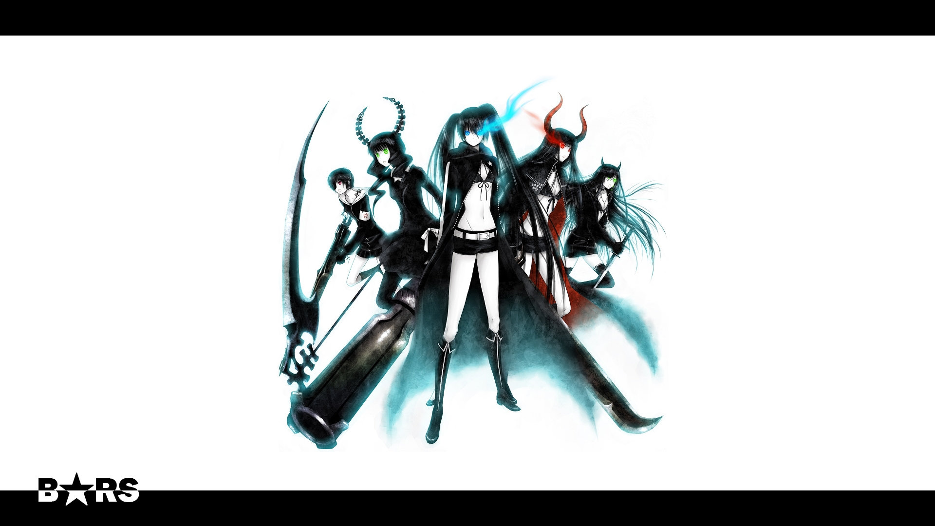 Best Dead Master (Black Rock Shooter) background ID:454151 for High Resolution full hd 1080p PC