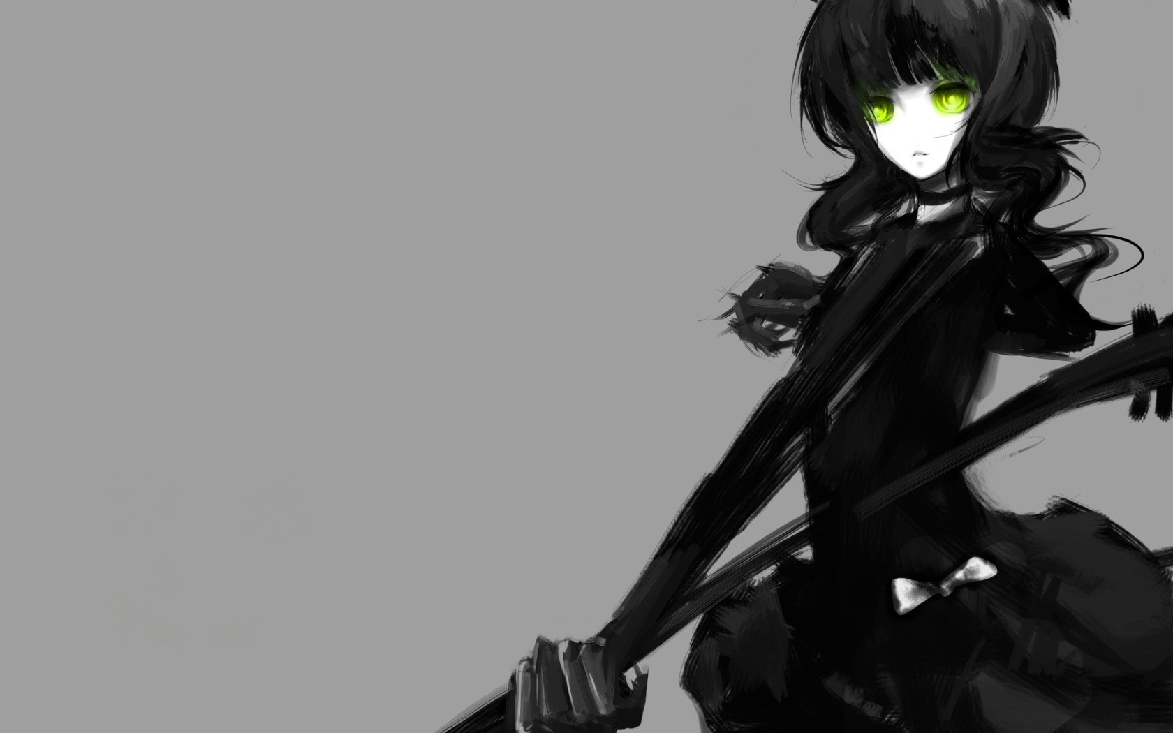 Download hd 1680x1050 Dead Master (Black Rock Shooter) PC background ID:453643 for free