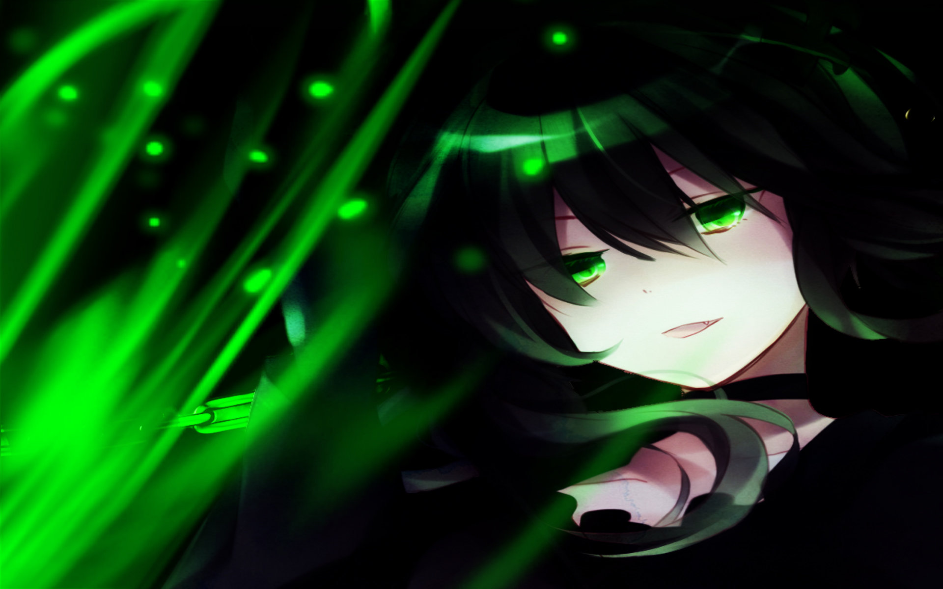 Awesome Dead Master (Black Rock Shooter) free background ID:453540 for hd 1920x1200 desktop