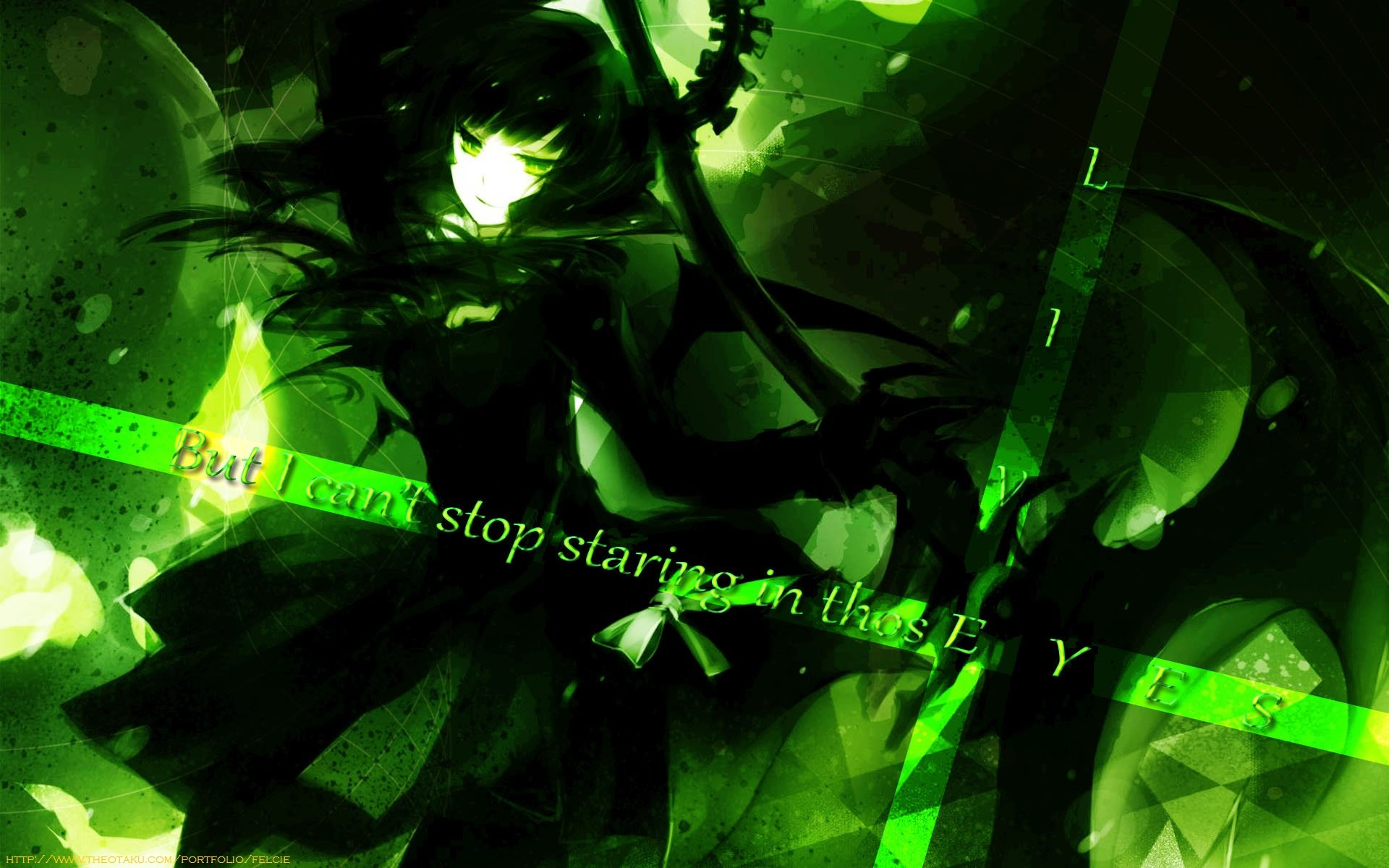 Free Dead Master (Black Rock Shooter) high quality background ID:454713 for hd 1920x1200 desktop