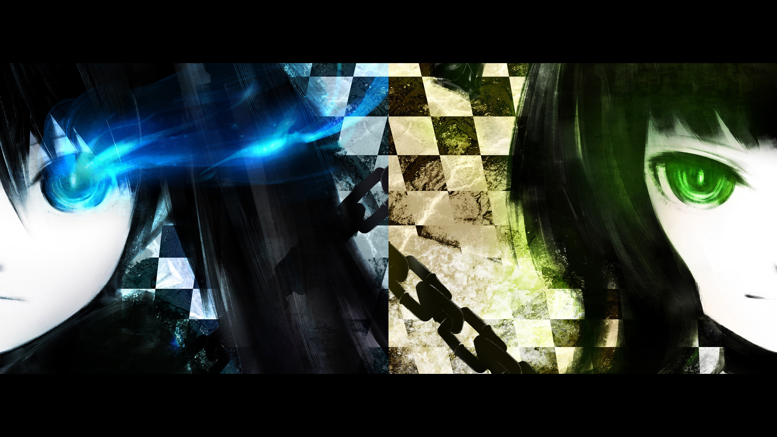 Best Dead Master (Black Rock Shooter) background ID:454203 for High Resolution hd 2560x1440 computer