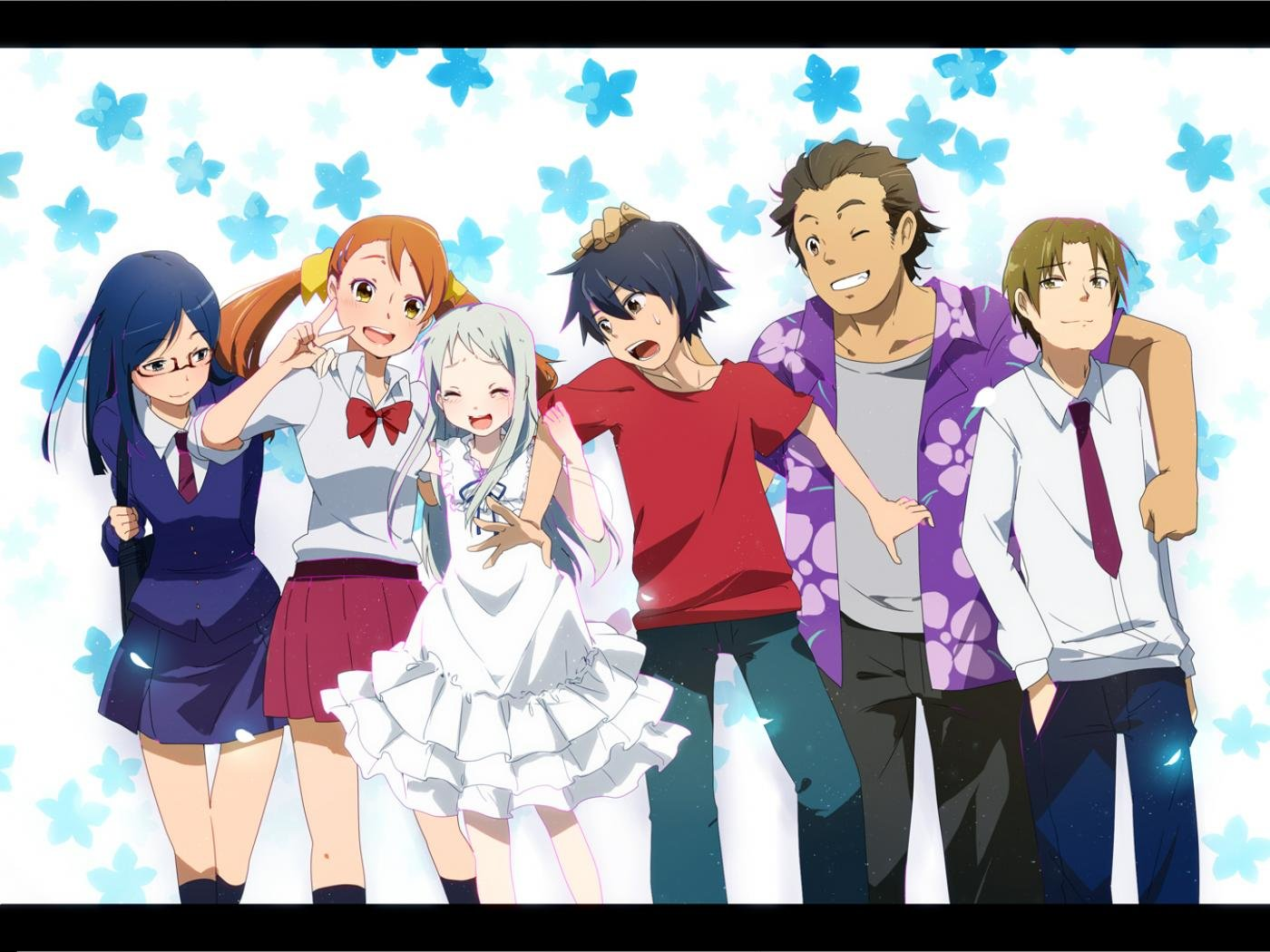 High resolution Anohana hd 1400x1050 background ID:382111 for computer