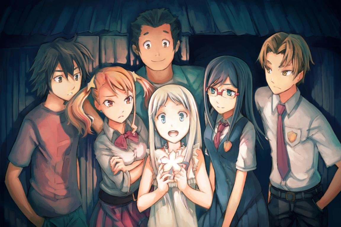 Download hd 1152x768 Anohana desktop wallpaper ID:382164 for free