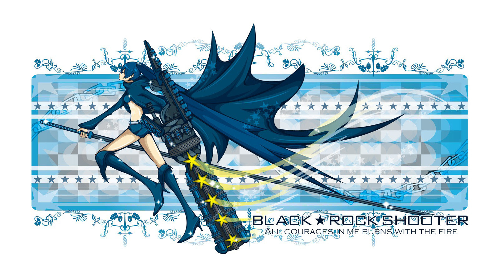 Free Black Rock Shooter high quality background ID:454317 for hd 1600x900 desktop