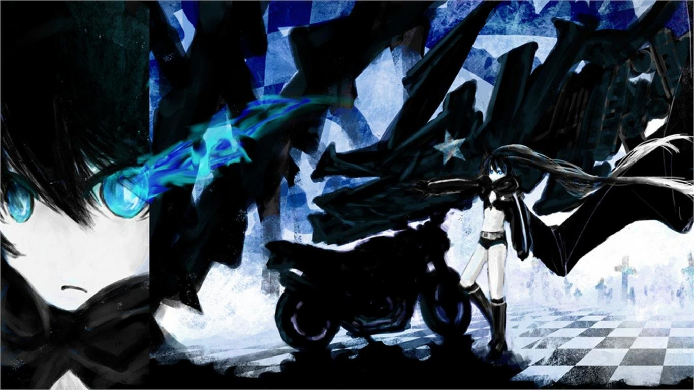 Free Black Rock Shooter high quality background ID:453723 for laptop computer