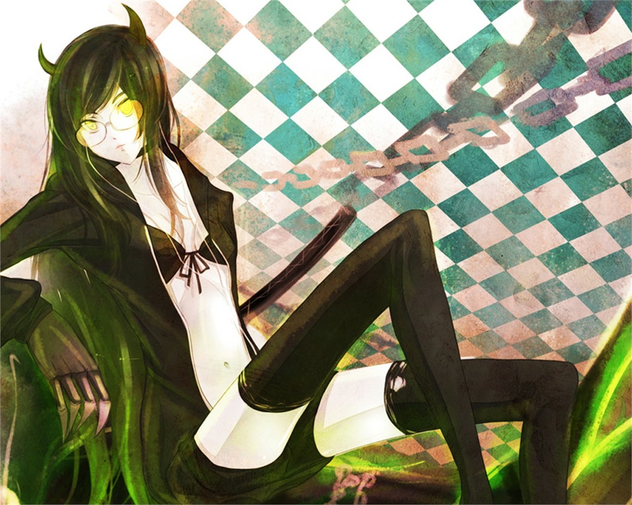 Free Dead Master (Black Rock Shooter) high quality background ID:453751 for hd 1280x1024 desktop