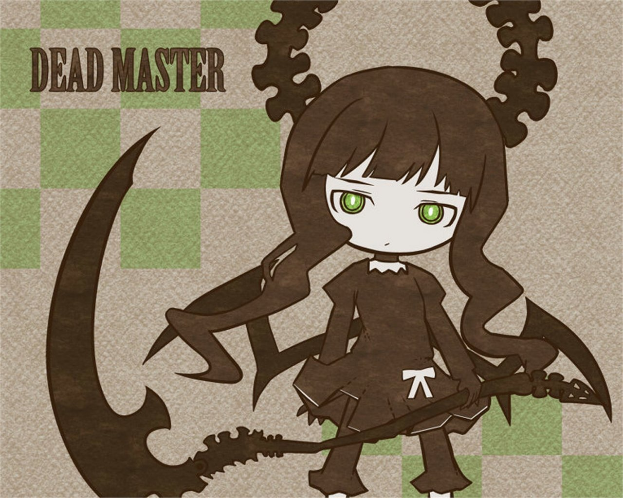 Free Dead Master (Black Rock Shooter) high quality wallpaper ID:453749 for hd 1280x1024 PC