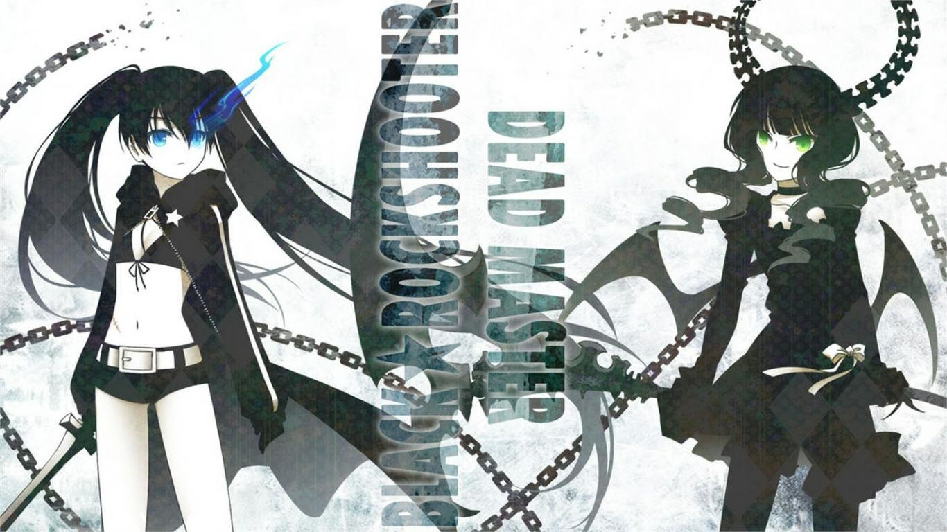 Download laptop Dead Master (Black Rock Shooter) desktop wallpaper ID:453729 for free