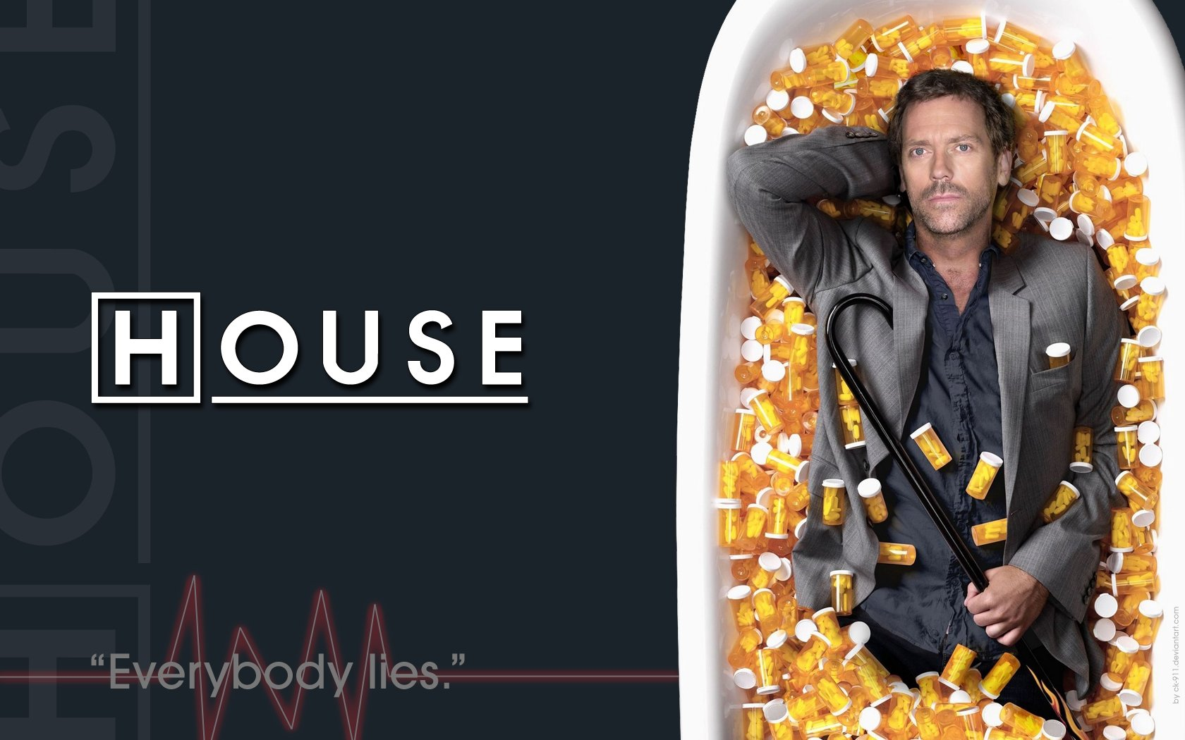 Free download Dr. House background ID:156666 hd 1680x1050 for computer