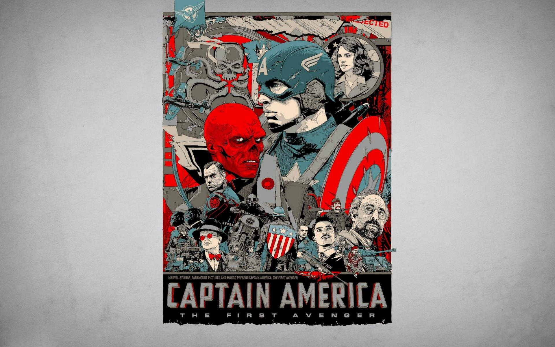 Download hd 1920x1200 Captain America (Marvel comics) desktop wallpaper ID:292758 for free