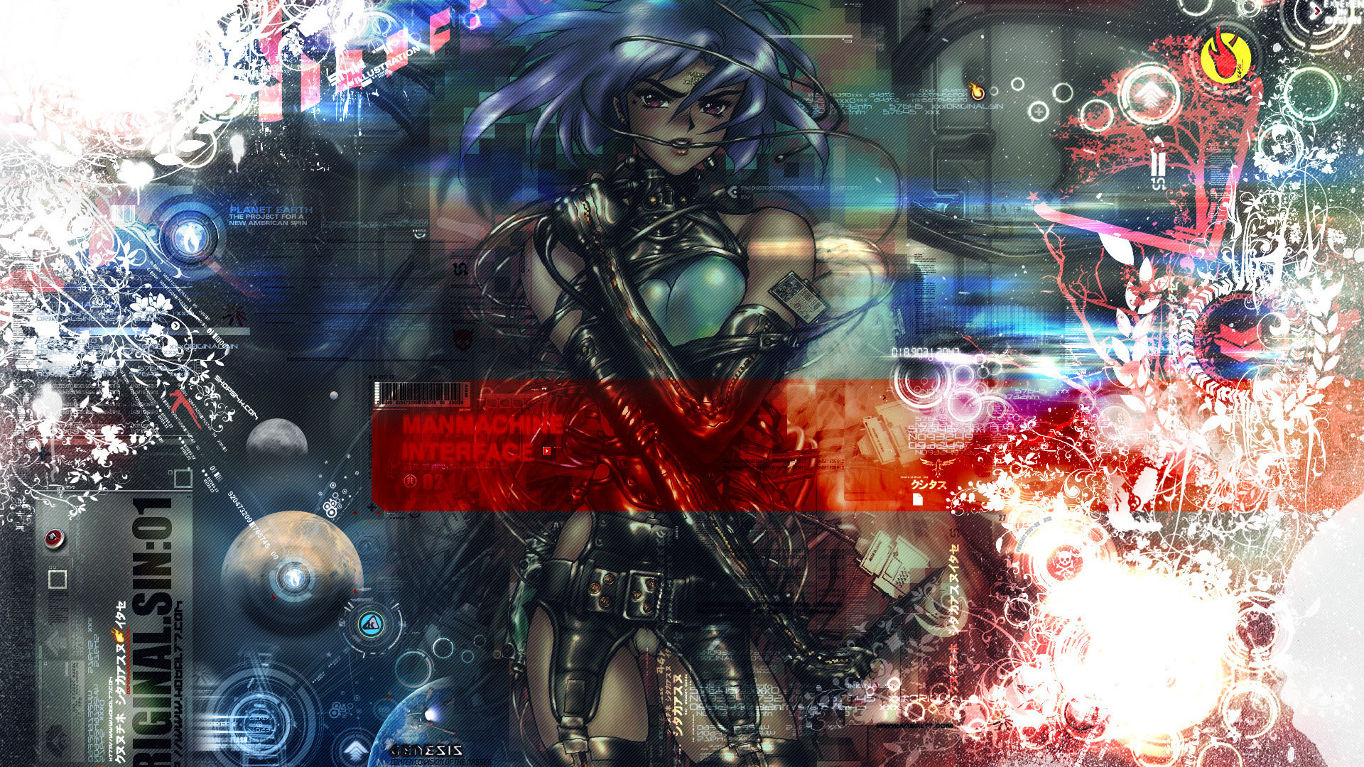 High resolution Ghost In The Shell hd 1920x1080 wallpaper ID:442075 for desktop