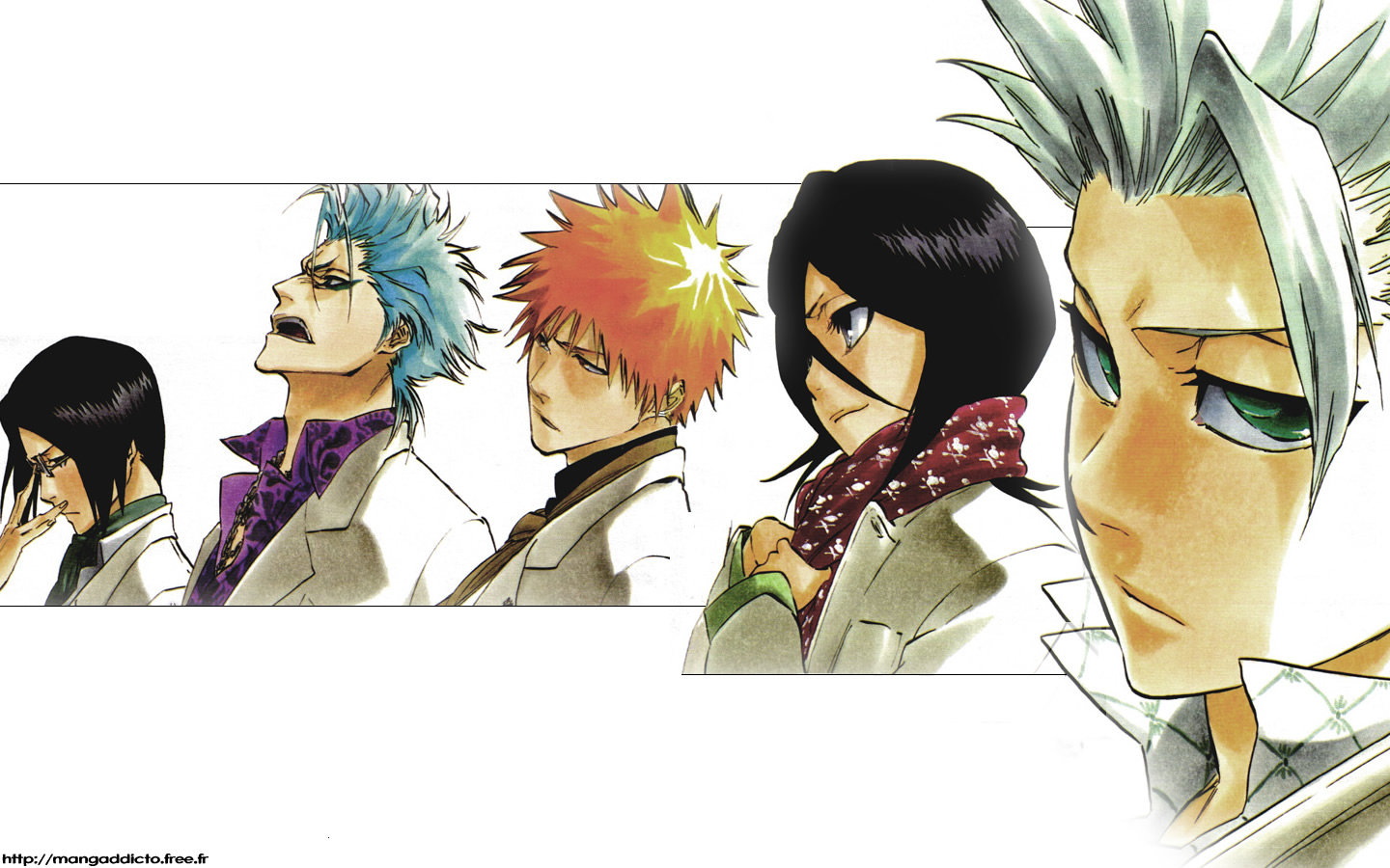 High resolution Bleach hd 1440x900 wallpaper ID:412429 for desktop